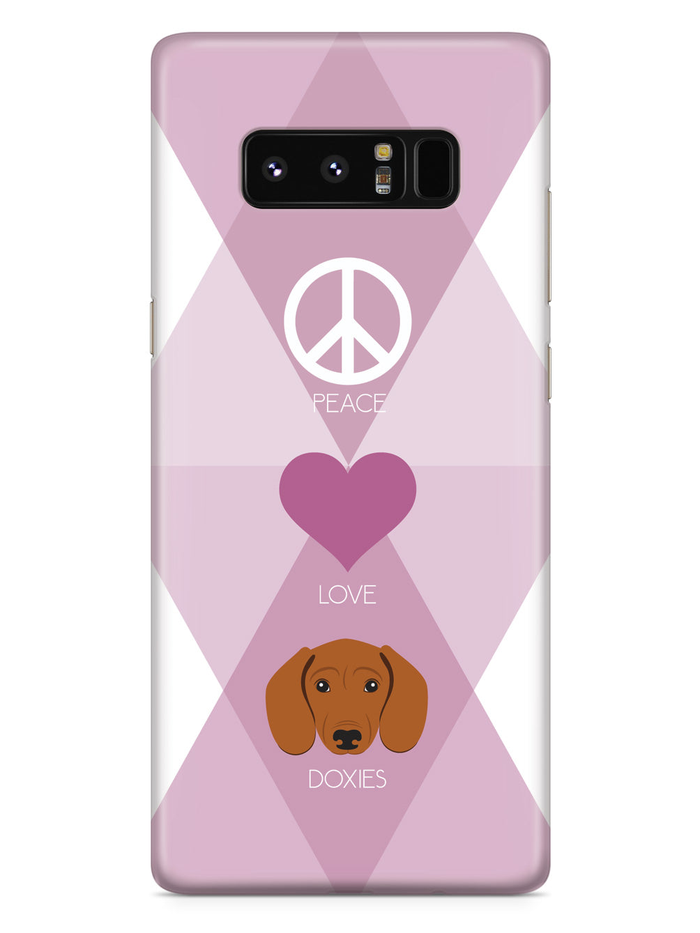 Peace, Love & Doxies Case