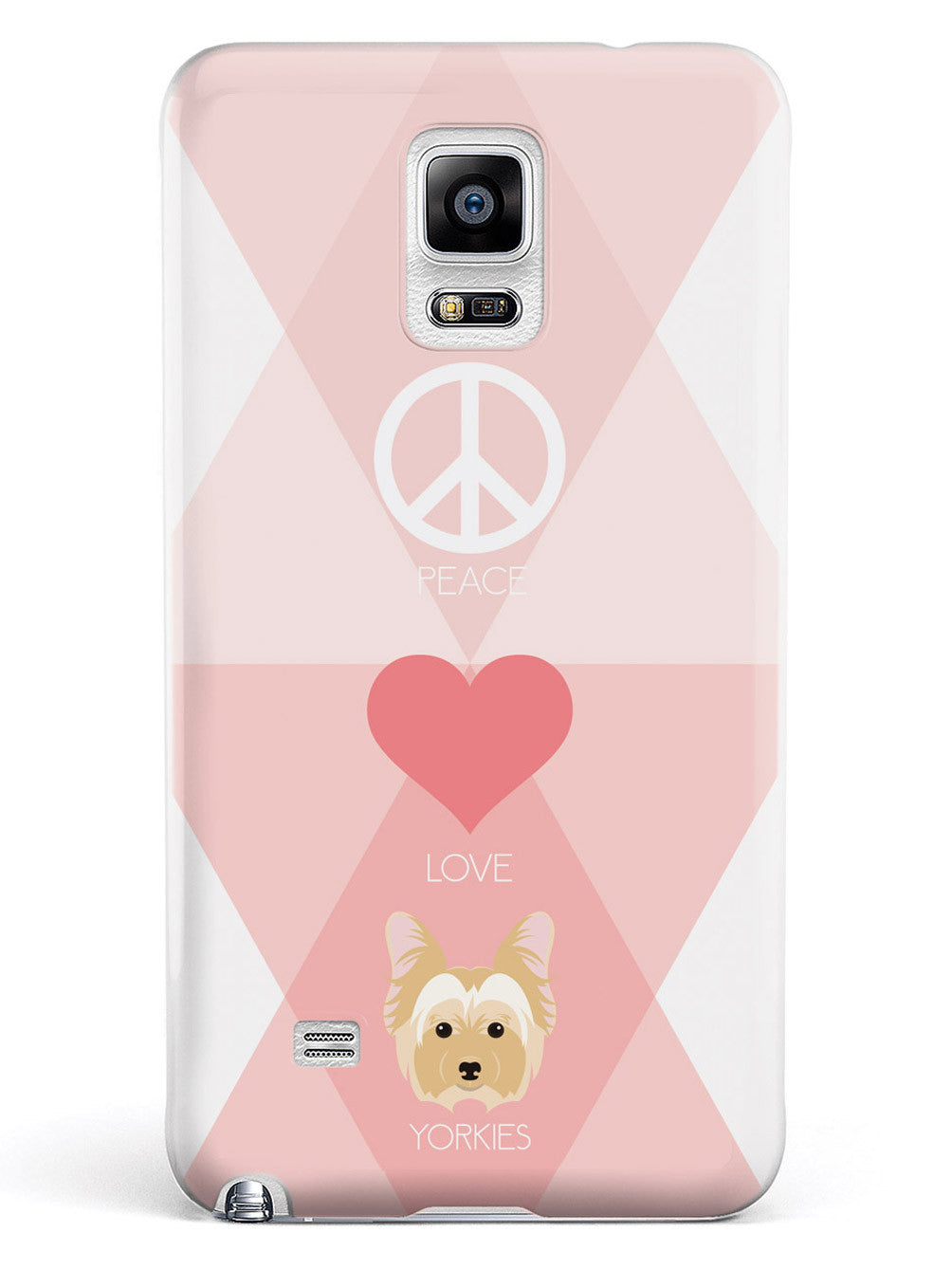 Peace, Love & Yorkies Case