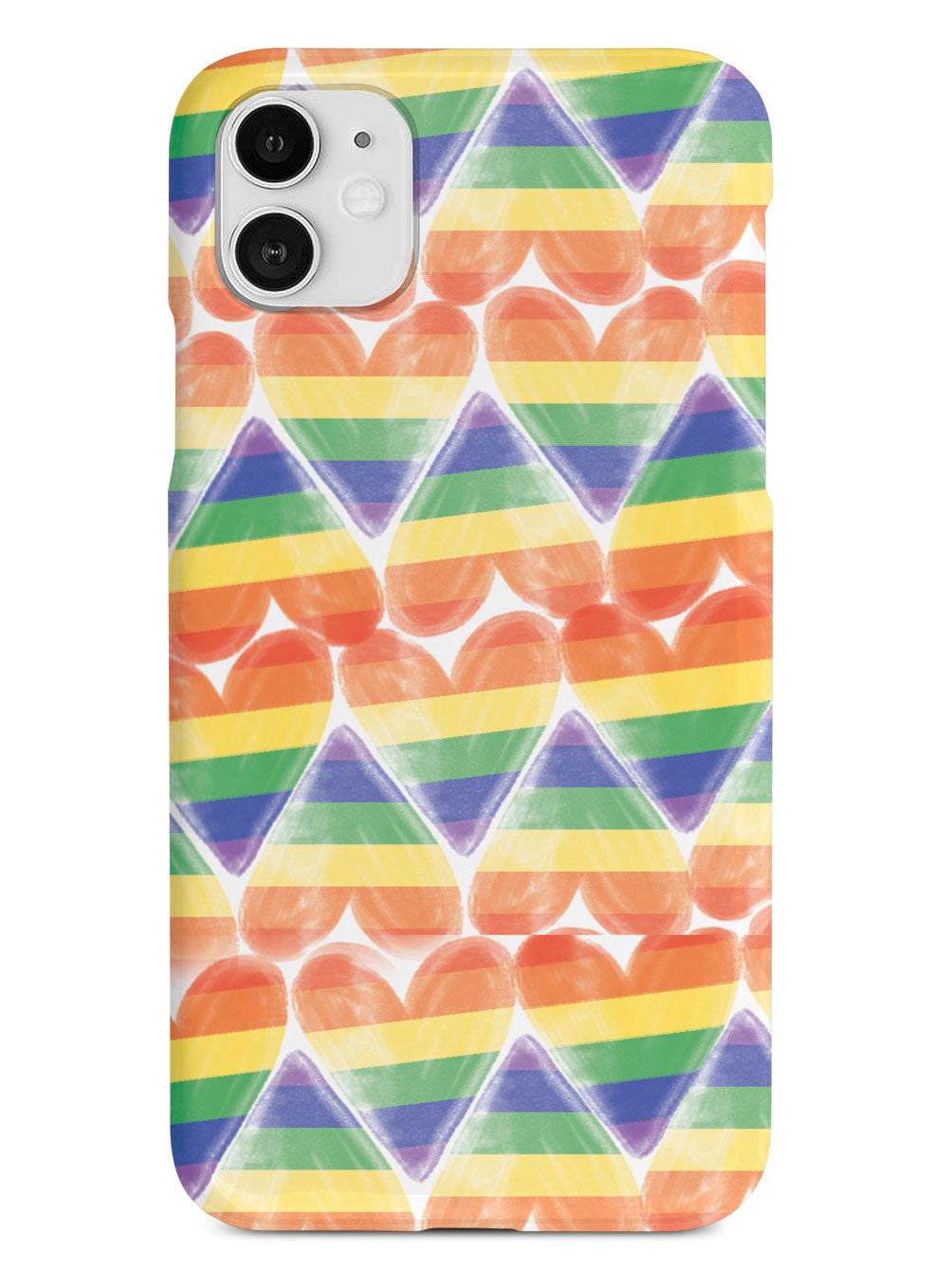 LGBT Heart Pattern Case