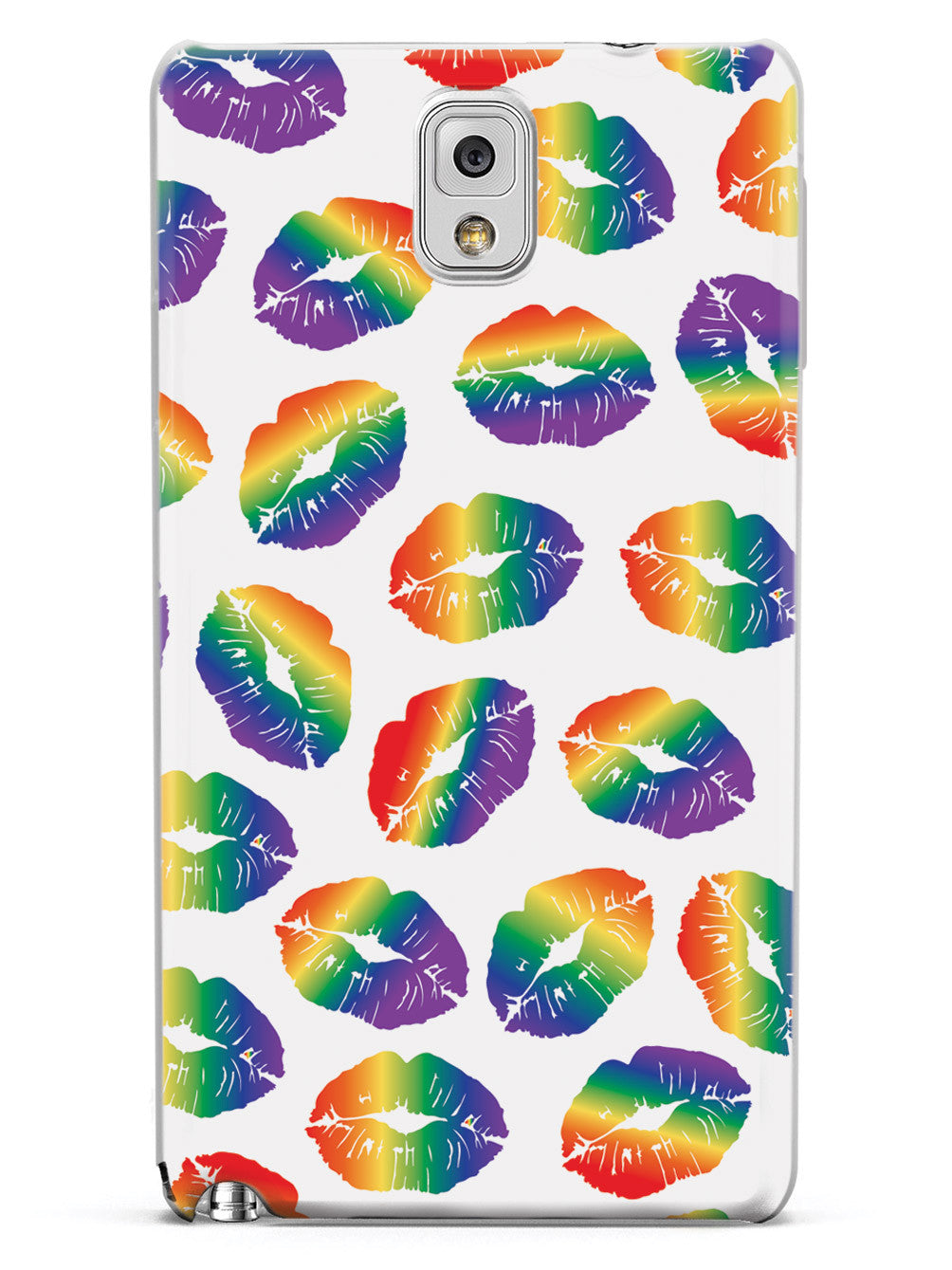 LGBT Lip Print Pattern Case