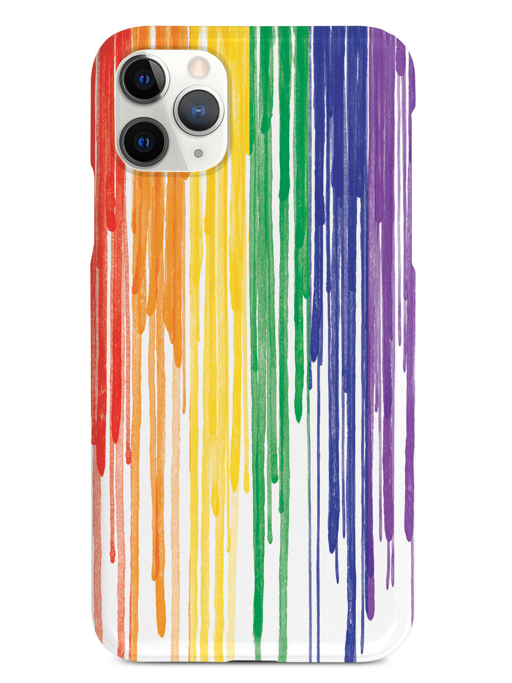 LGBT Pride Dripping Paint Flag Case