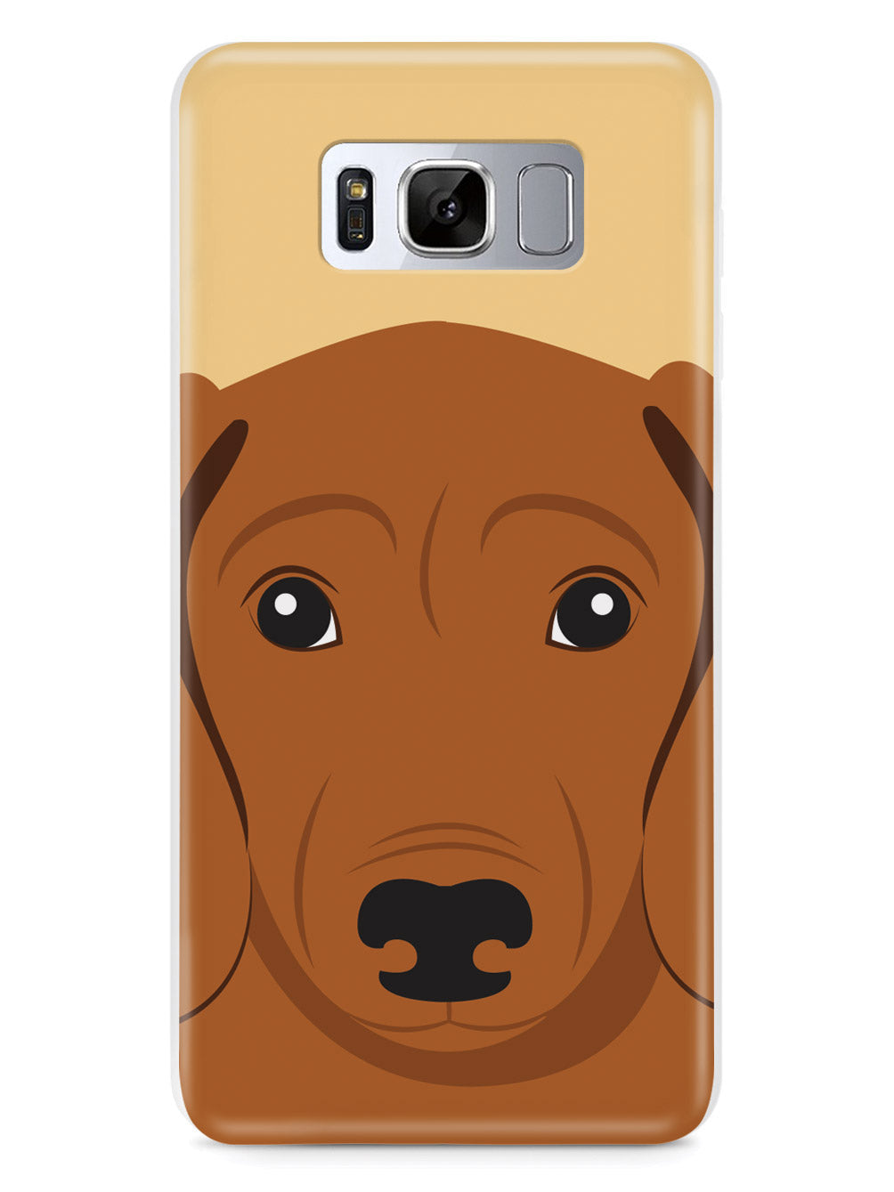 Dachshund Face - Dog Case
