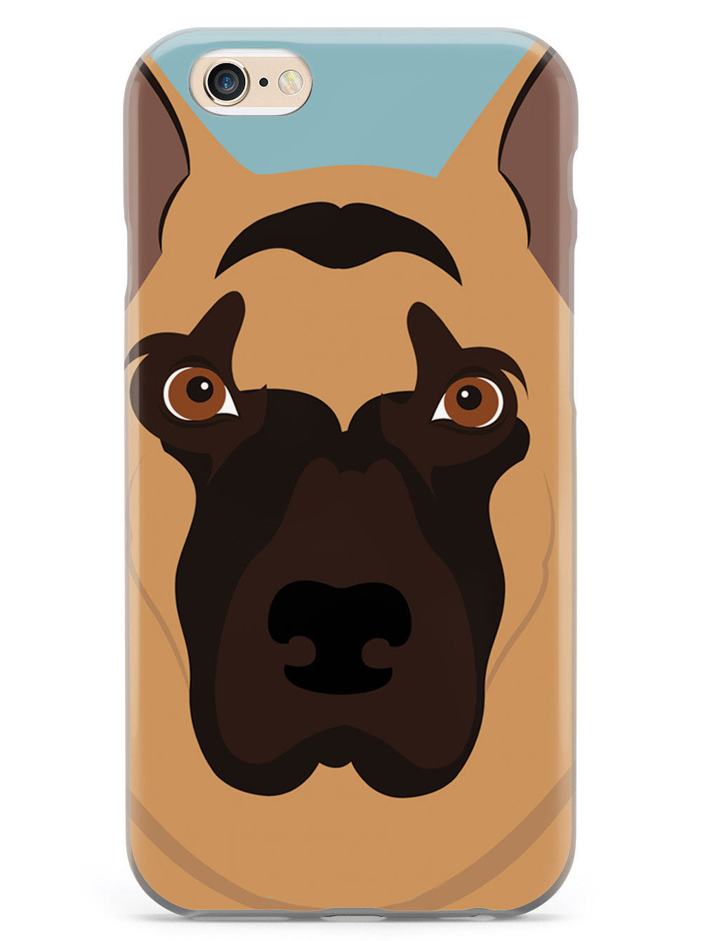 German Shepherd Face - Dog Case