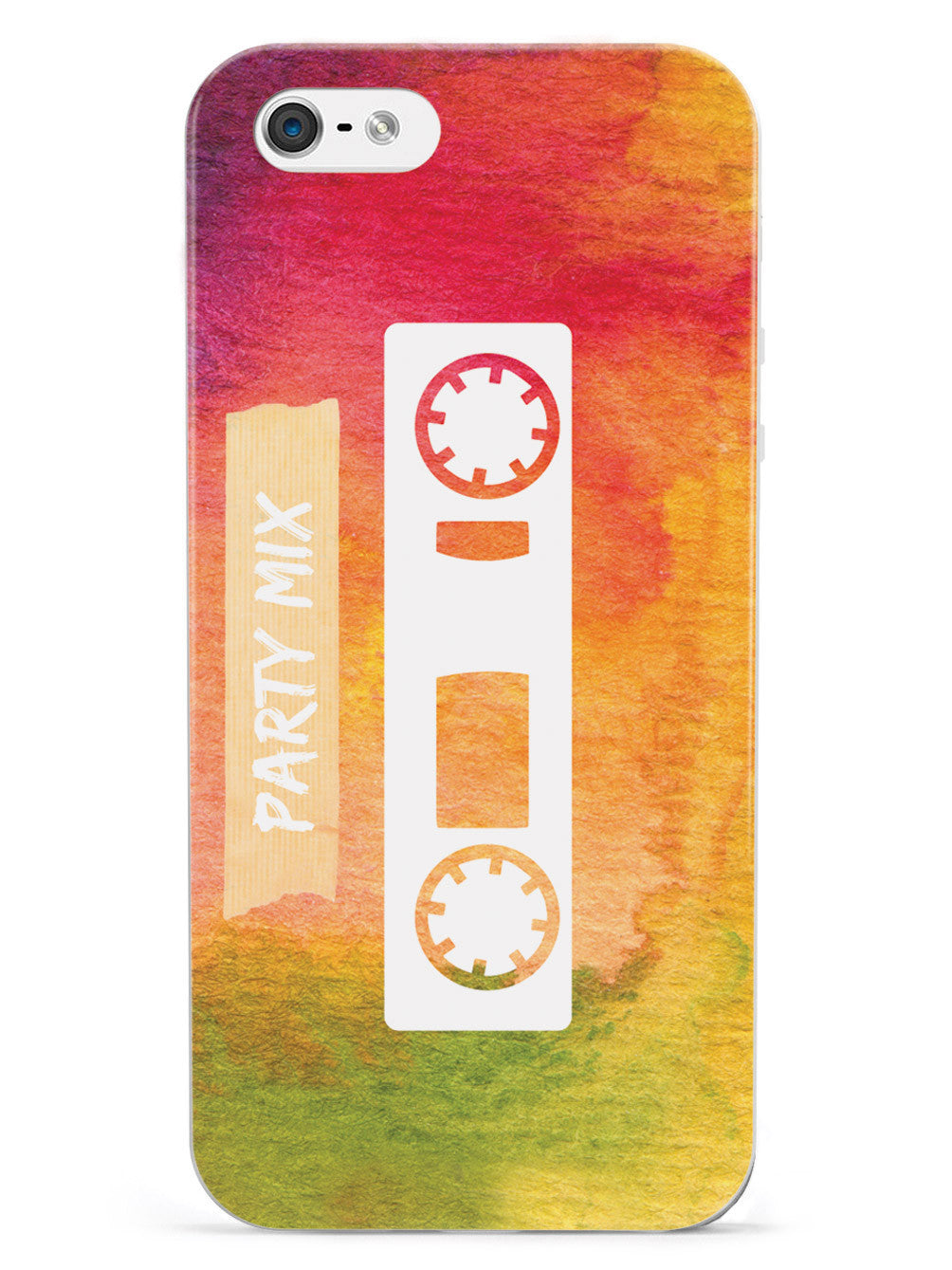 Party Mix Cassette - Watercolor Case