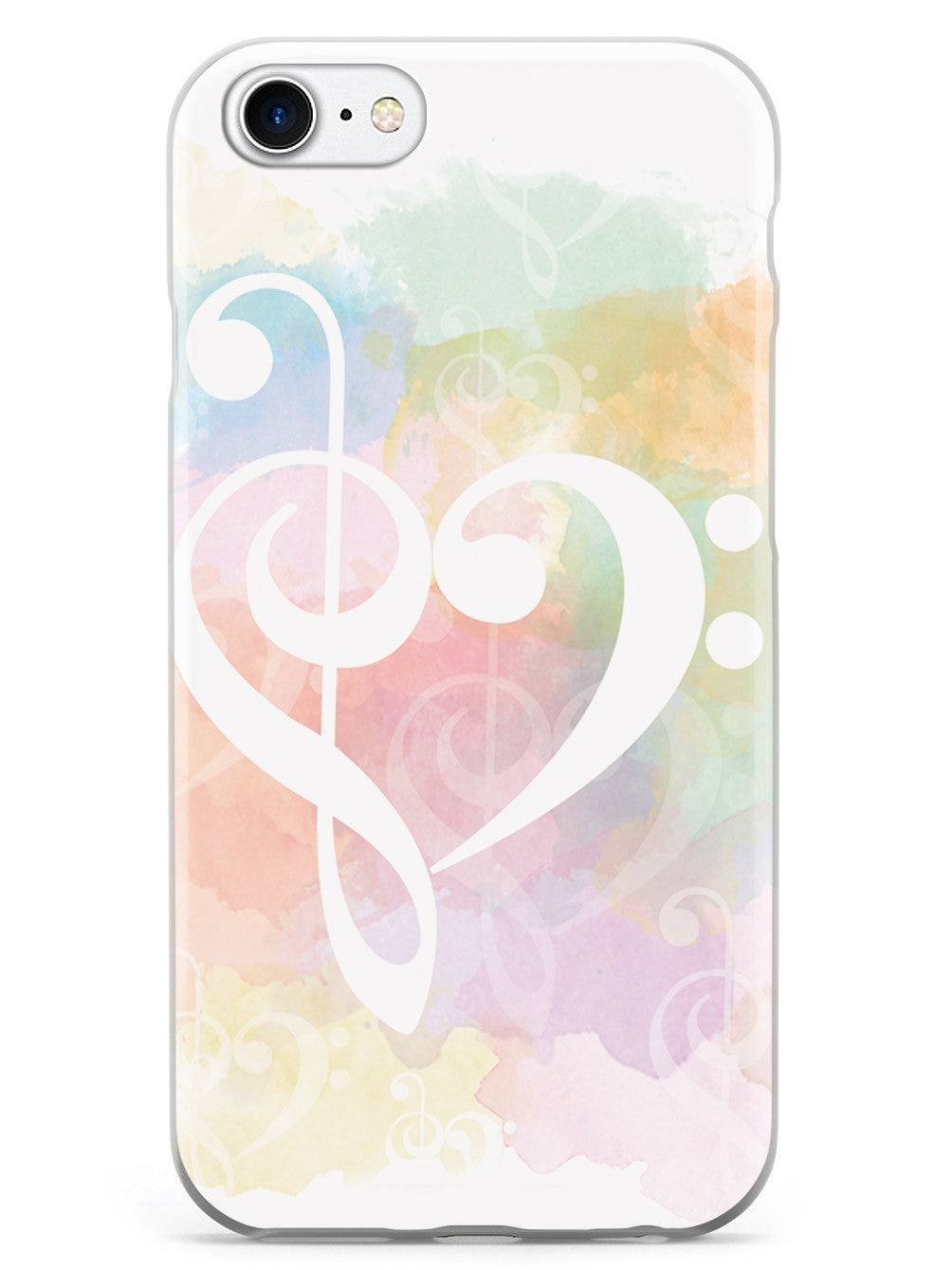 Treble Clef - Bass Clef Heart Case