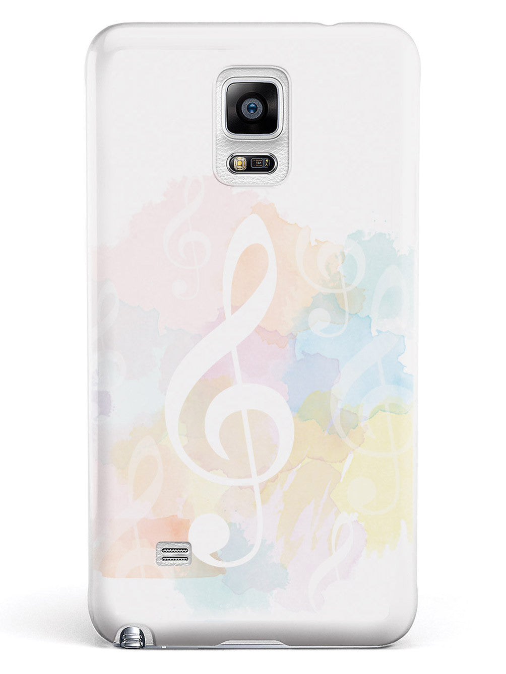 Treble Clef - Watercolor Case