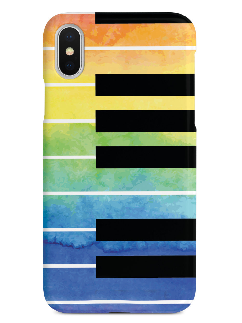 Piano Keys - Watercolor Case