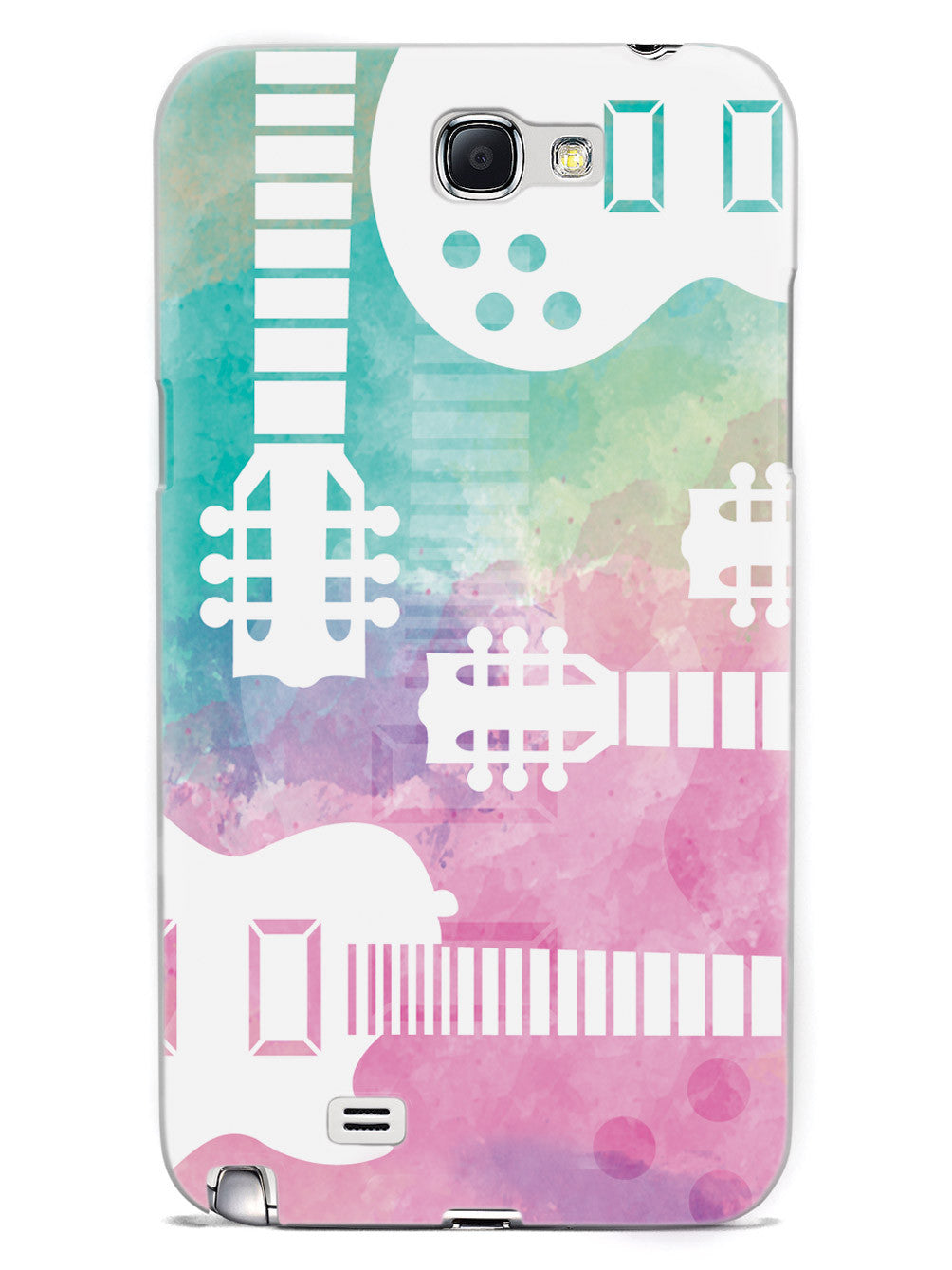 Guitar Silhouette - Watercolor Case