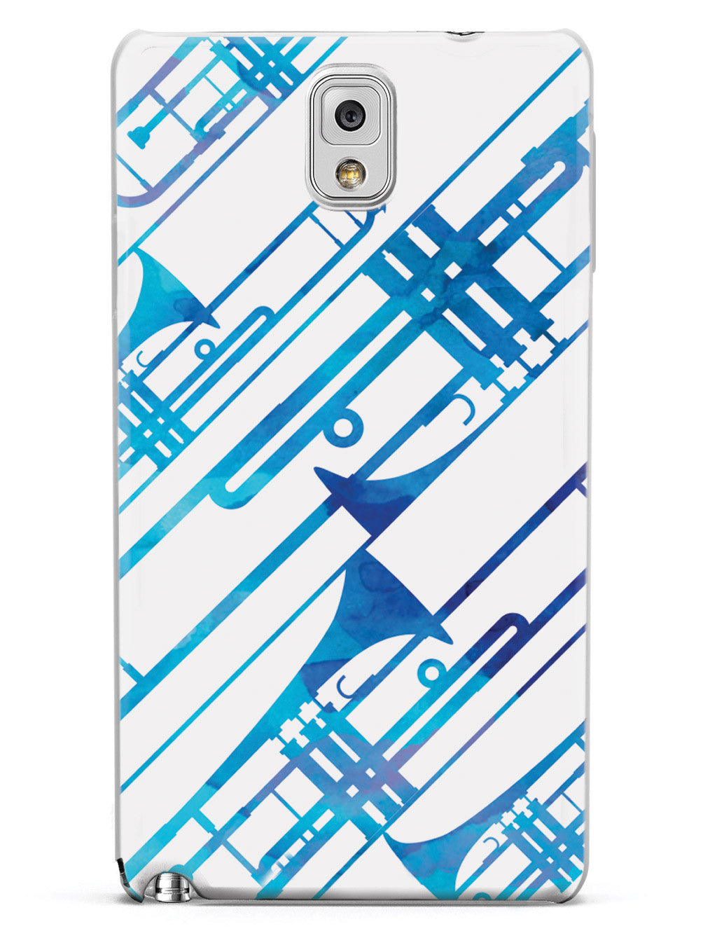Abstract Trombone - Watercolor Case