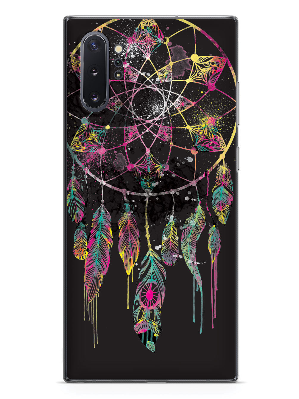 Watercolorful Dreamcatcher - Black Case