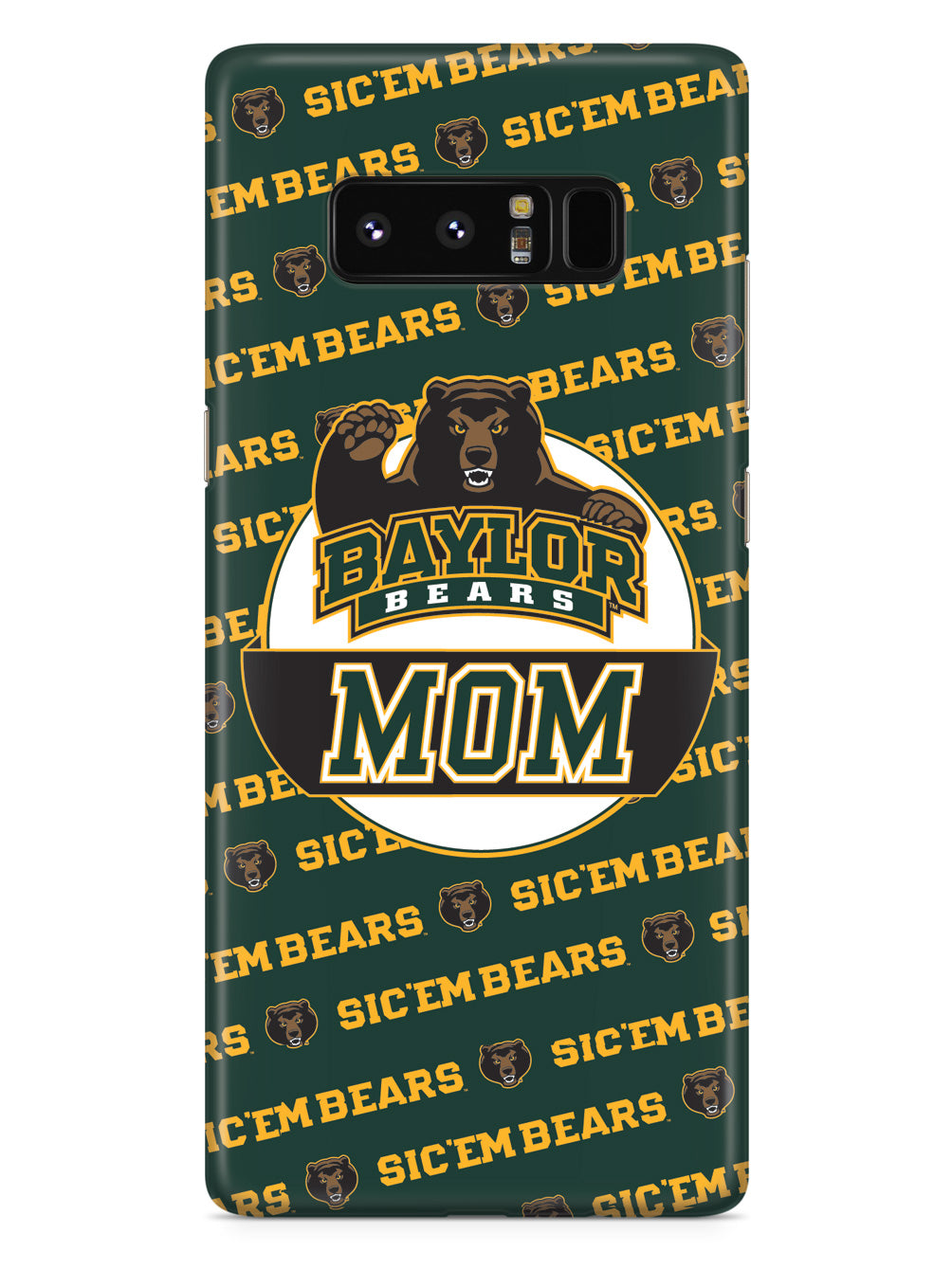 College Mom - Baylor University Bears Case