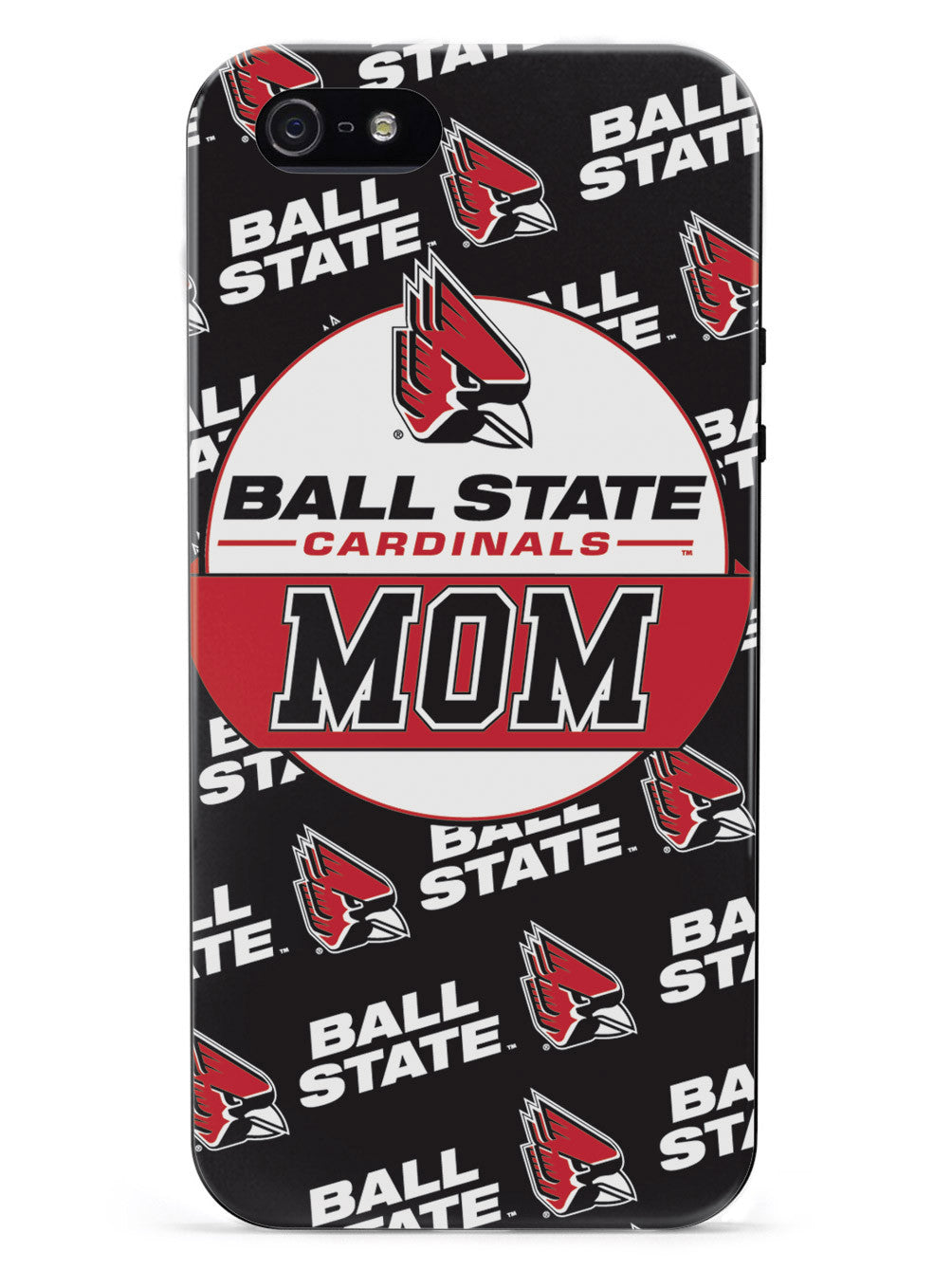 College Mom - Ball State Cardinals Case