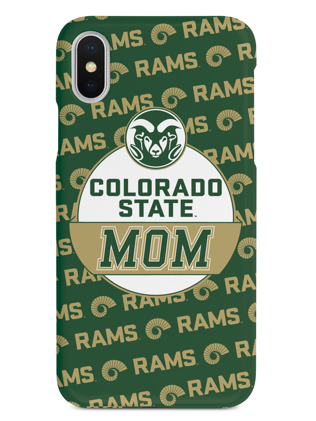 College Mom - Colorado State Rams Case
