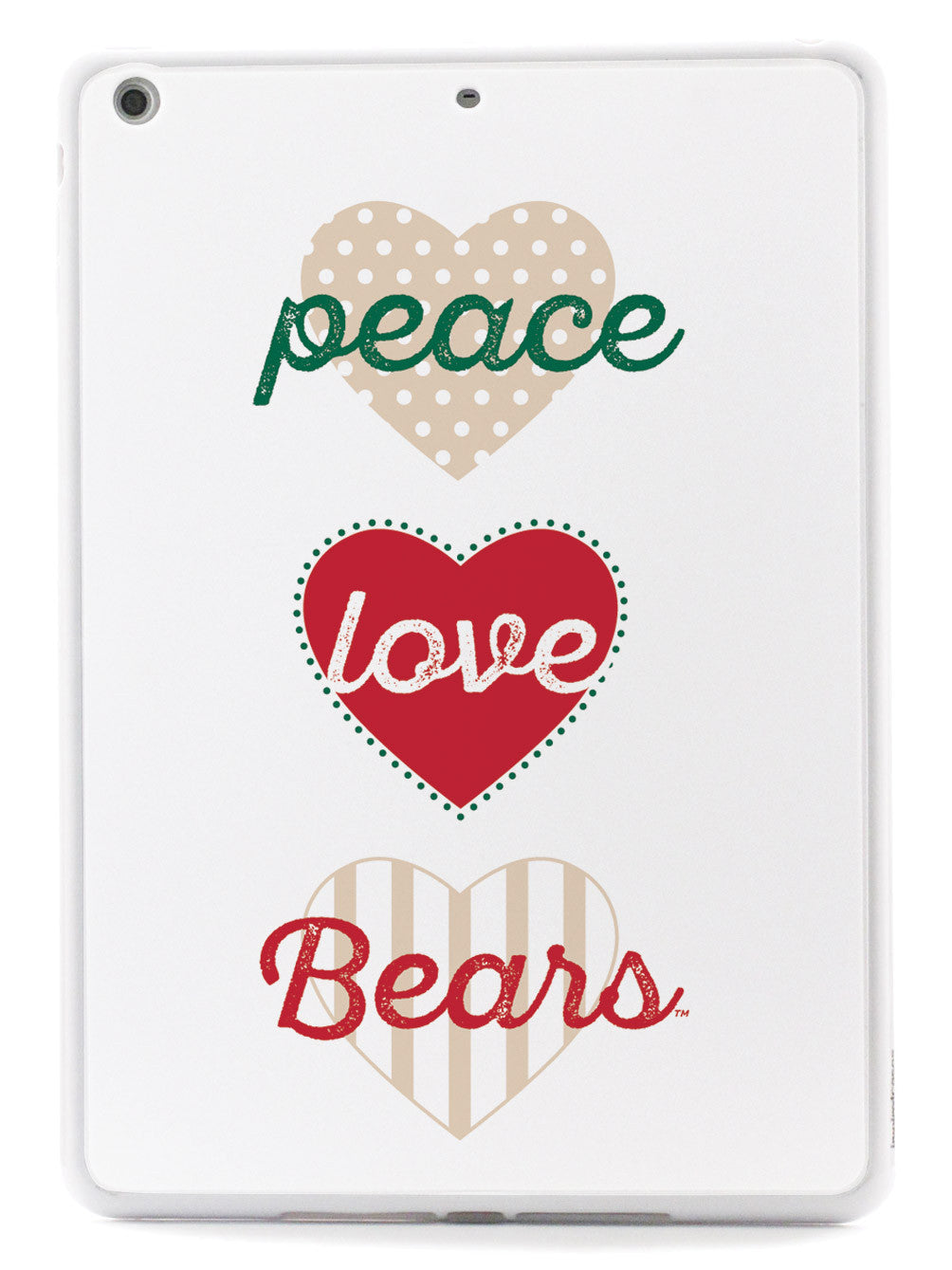 Peace, Love, Bears - Washington University, St Louis Case