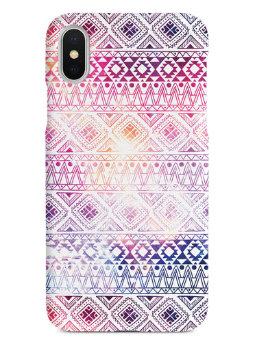Aztec Pattern - White Case