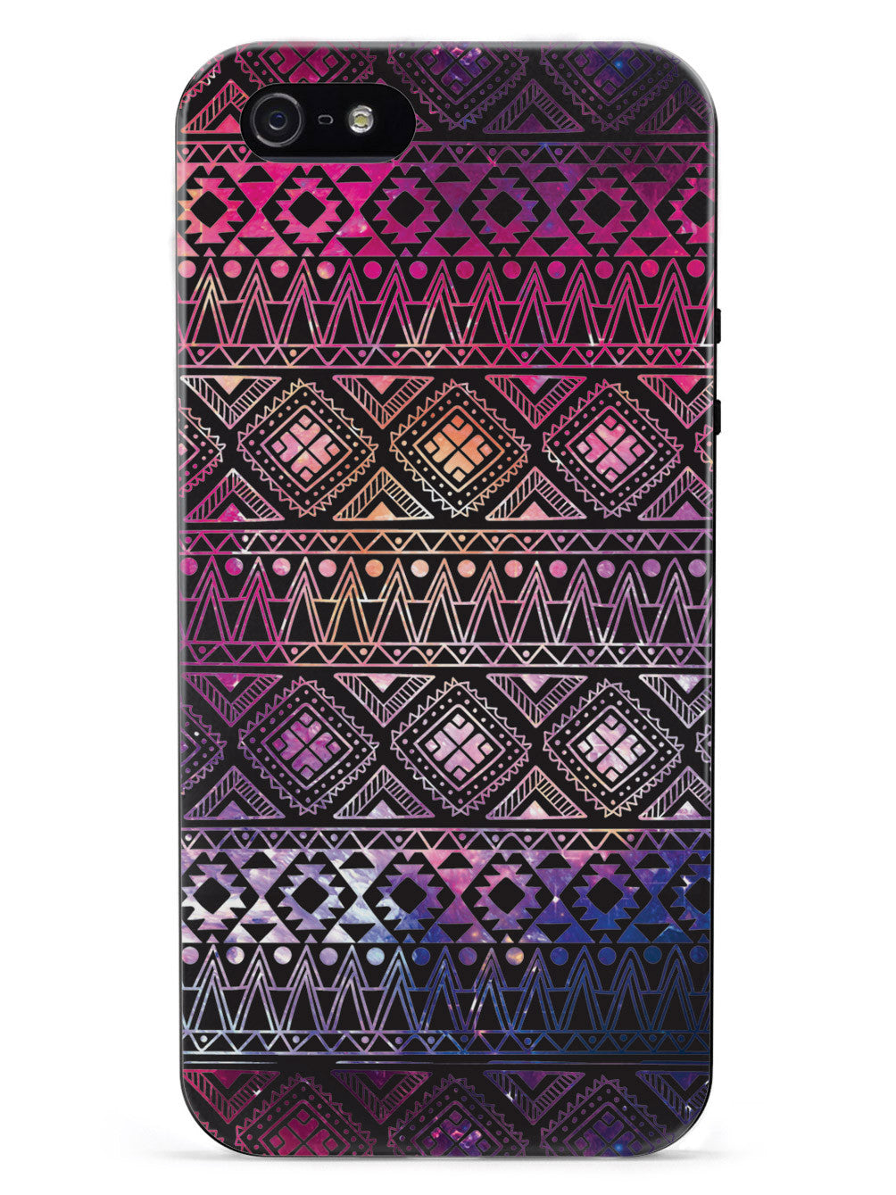 Aztec Pattern - Black Case
