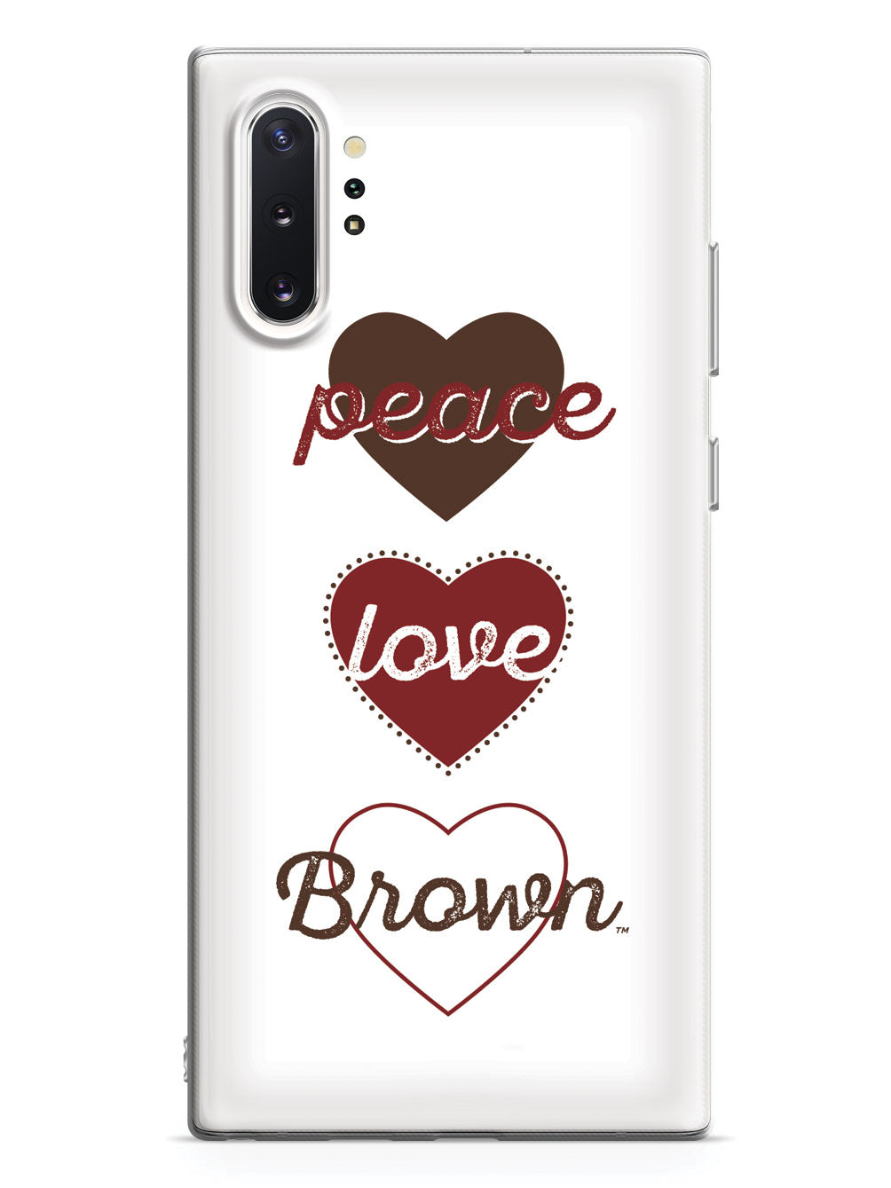 Peace, Love, Brown Case