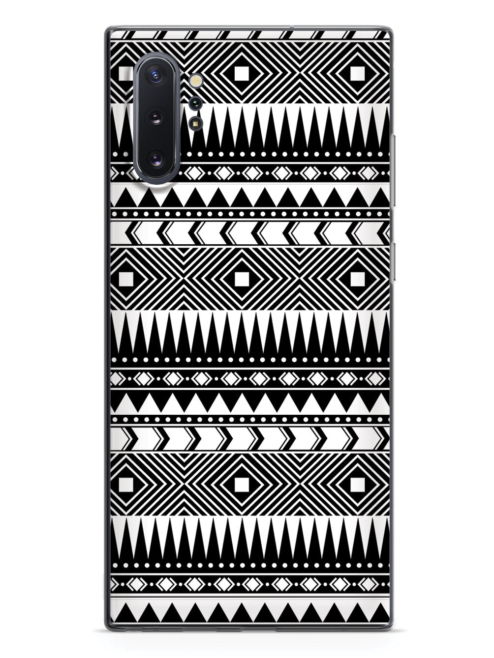 Aztec Pattern - Black and White Case