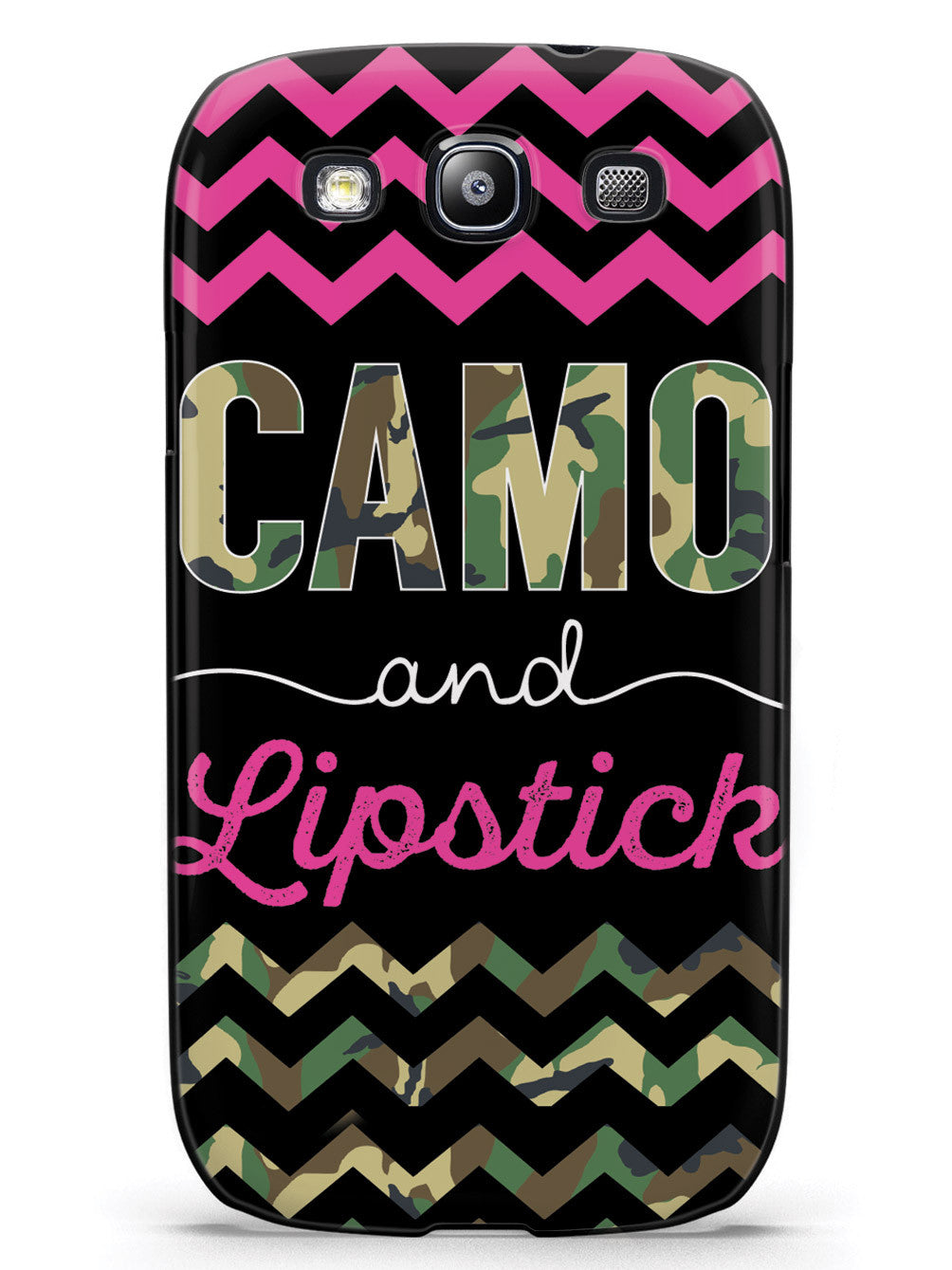 Camo and Lipstick Case