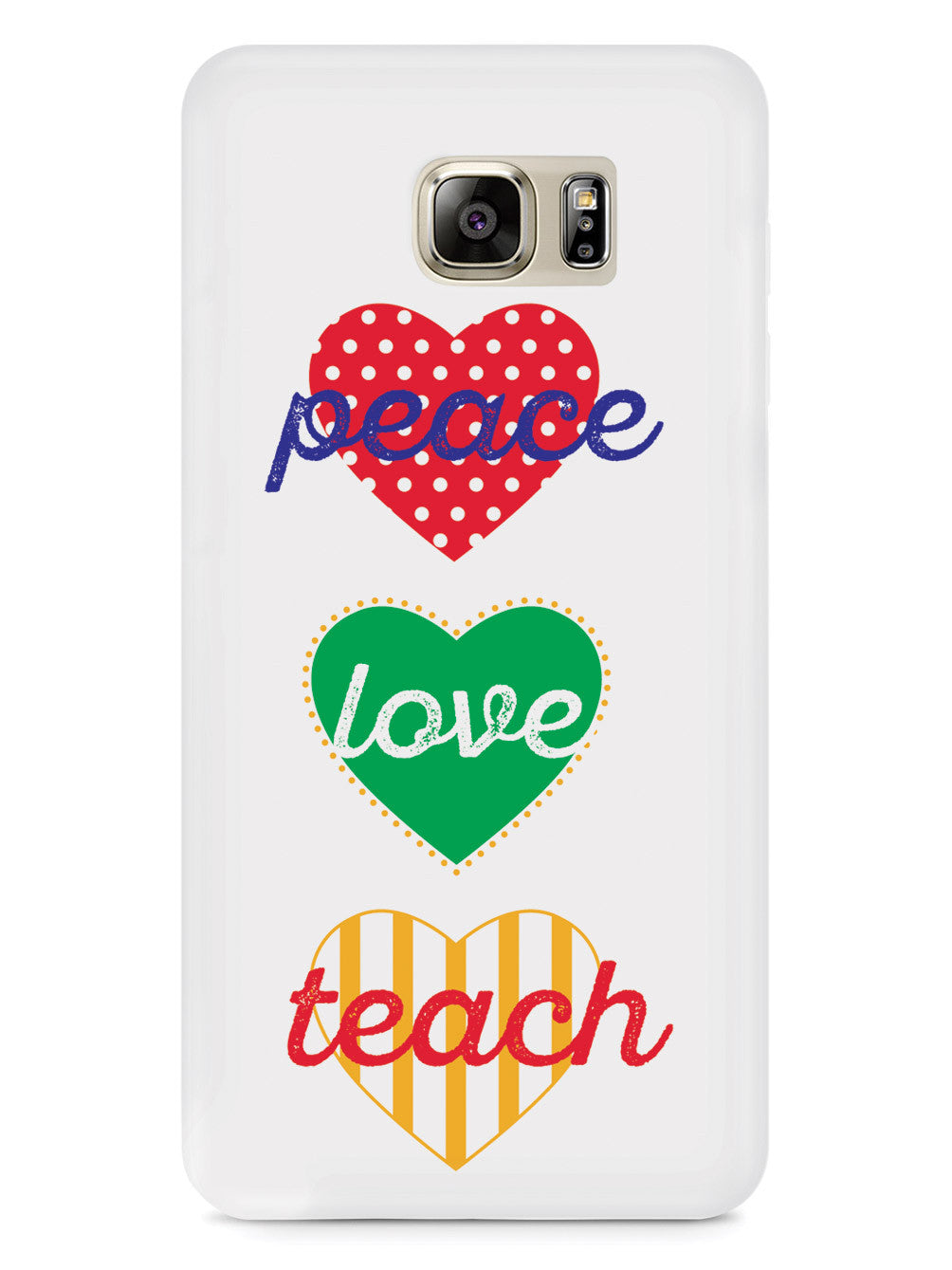 Peace Love Teach - Teacher's  Case