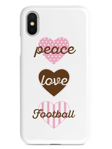 Peace Love Football Case