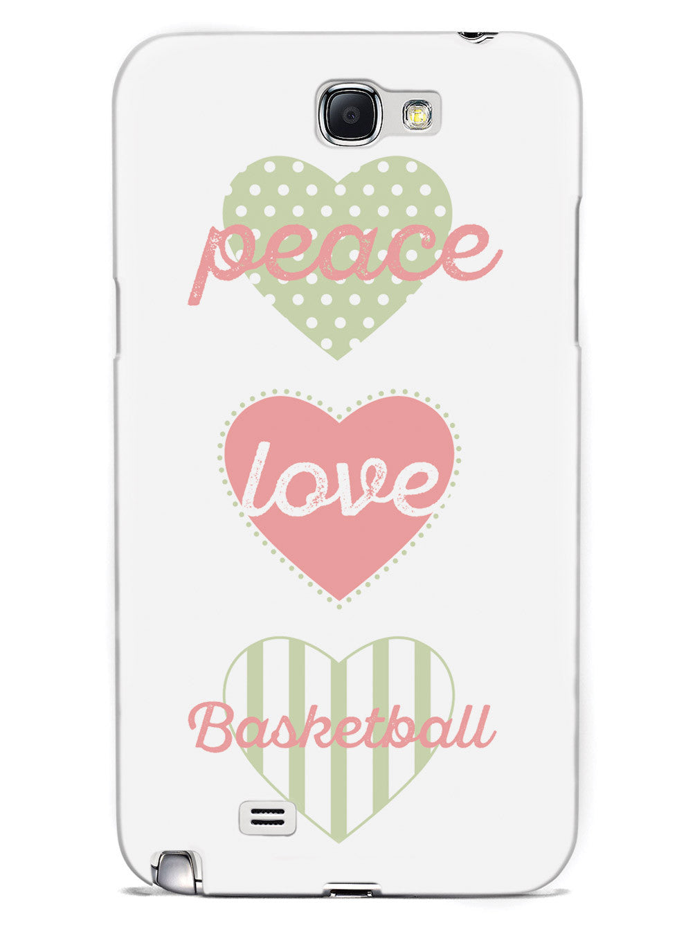 Peace Love Basketball Case