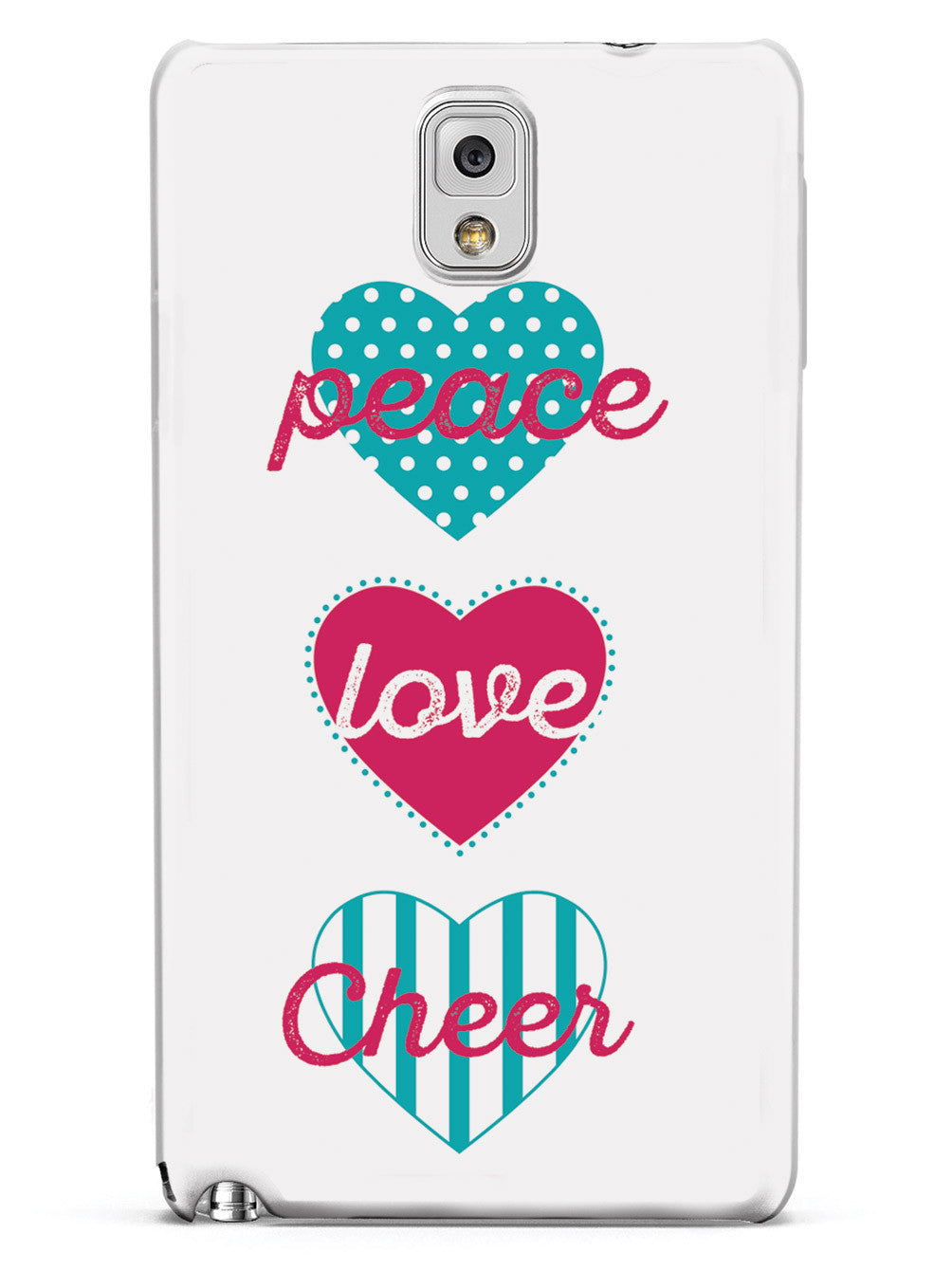 Peace Love Cheer Case