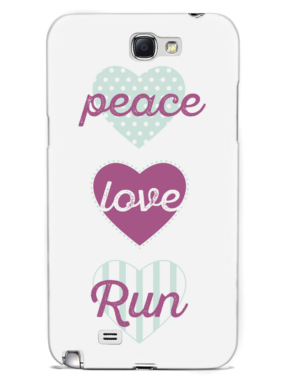 Peace Love Run Case