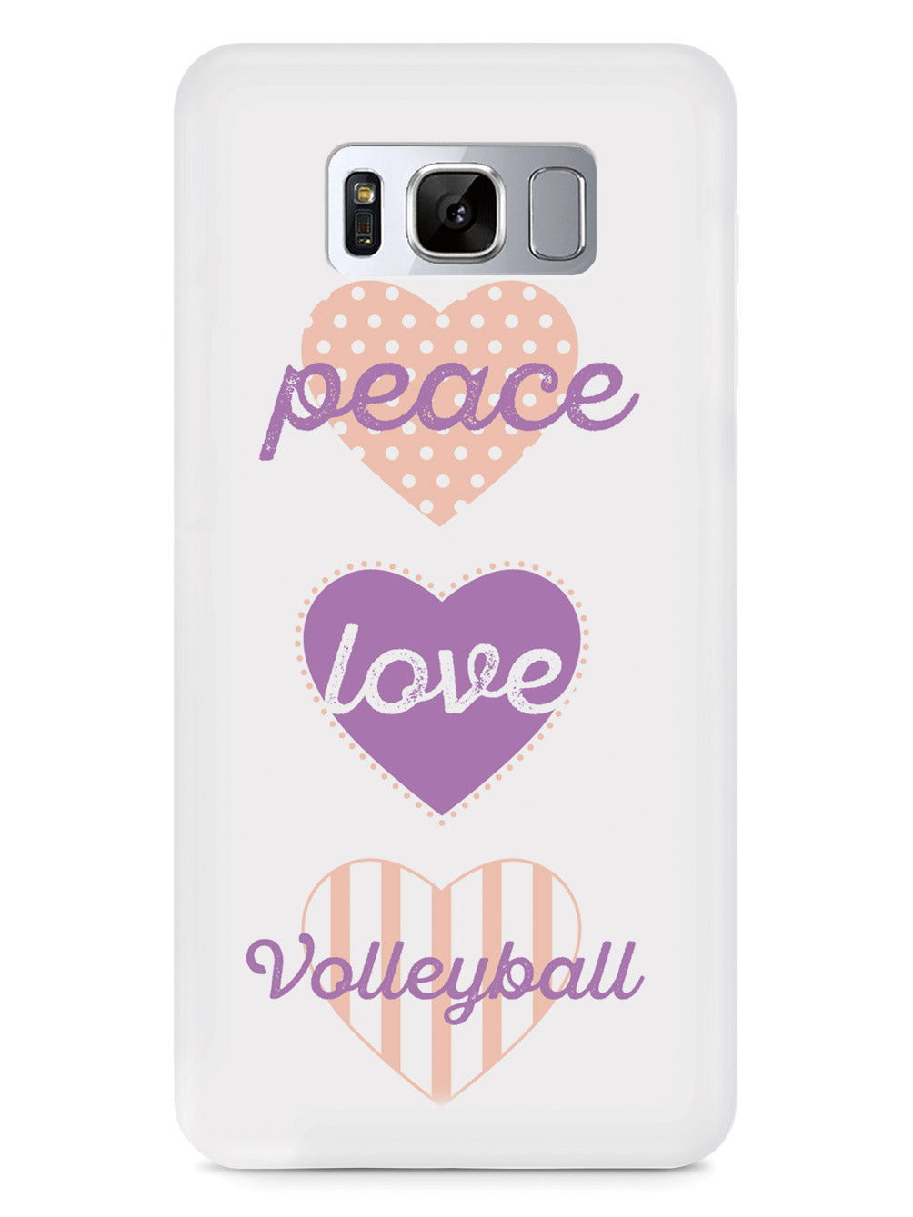Peace Love Volleyball Case