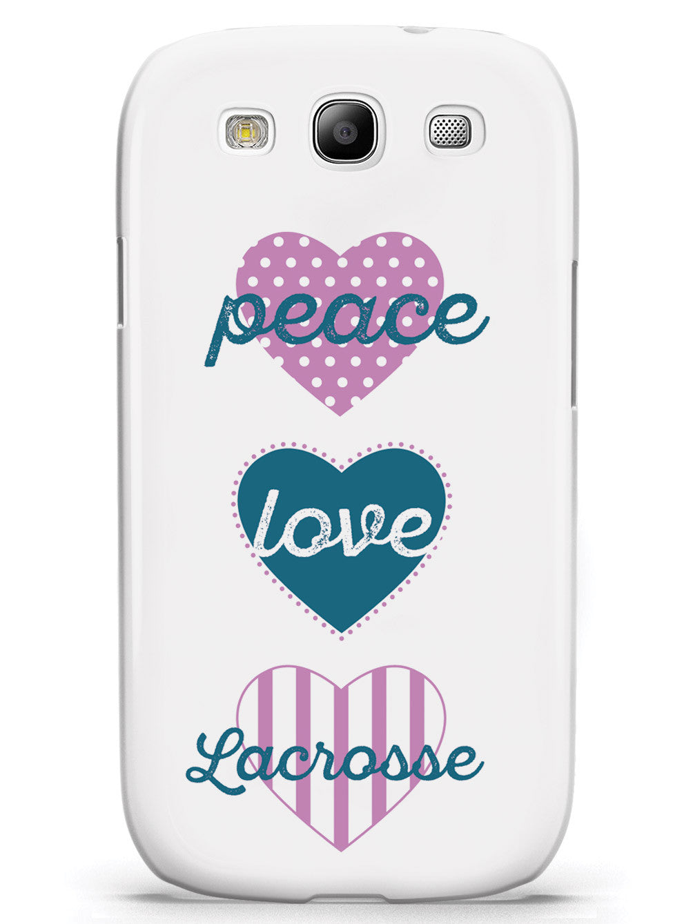 Peace Love Lacrosse Case