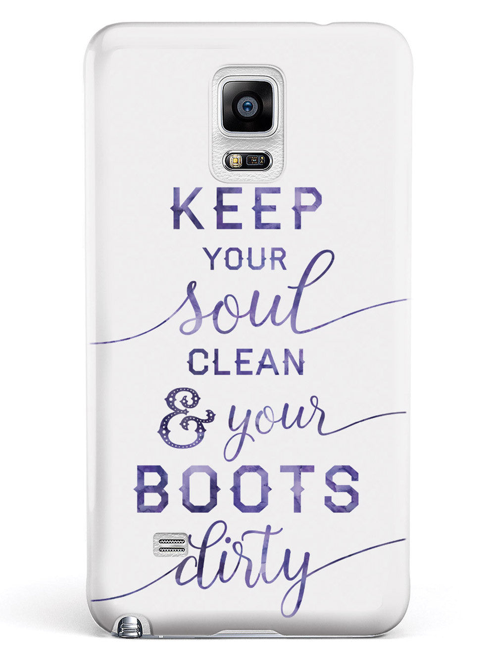 Clean Soul, Dirty Boots Case