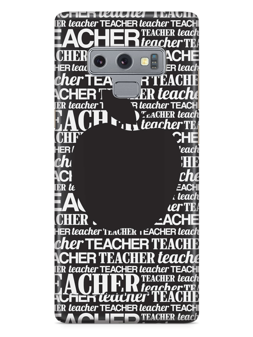 Apple Silhouette - Black Case