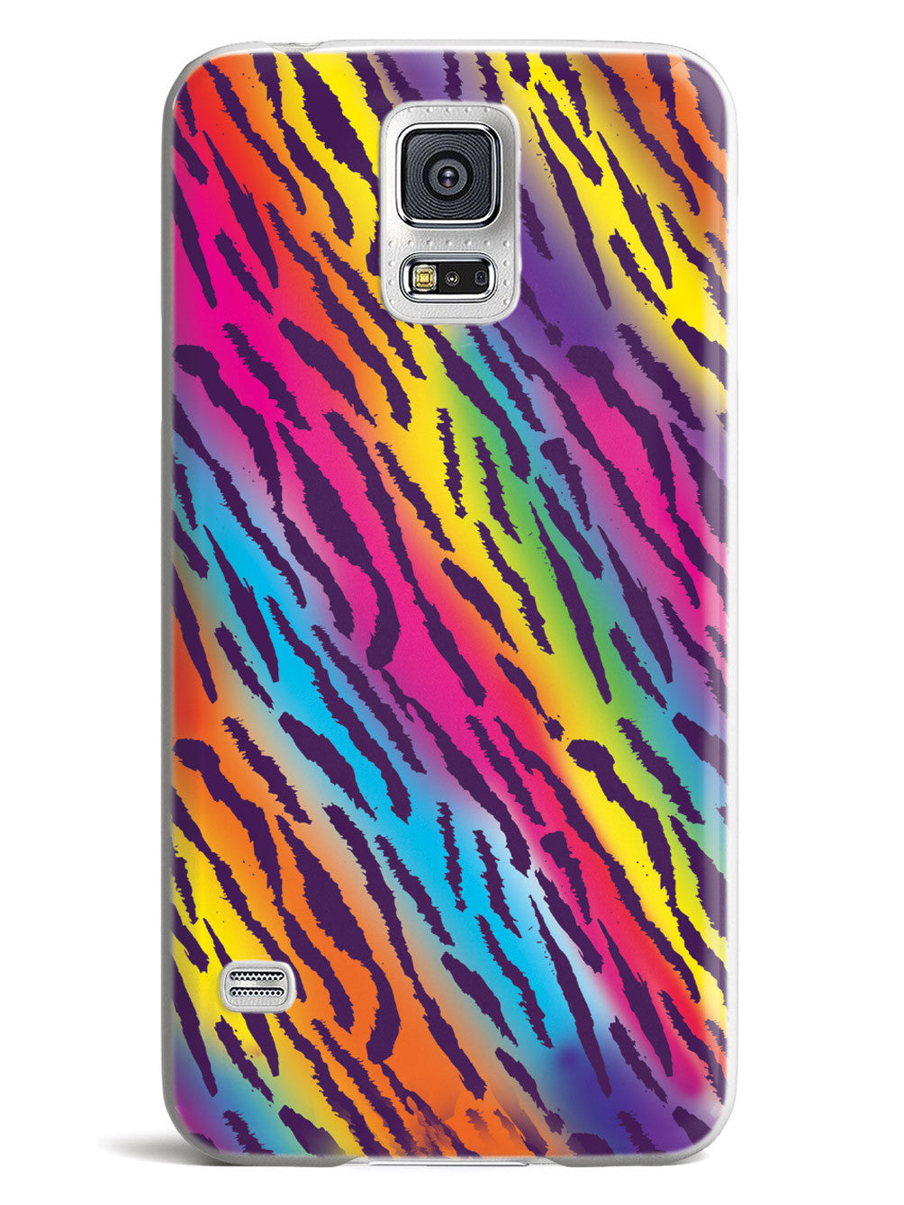Rainbow Tiger Print Case