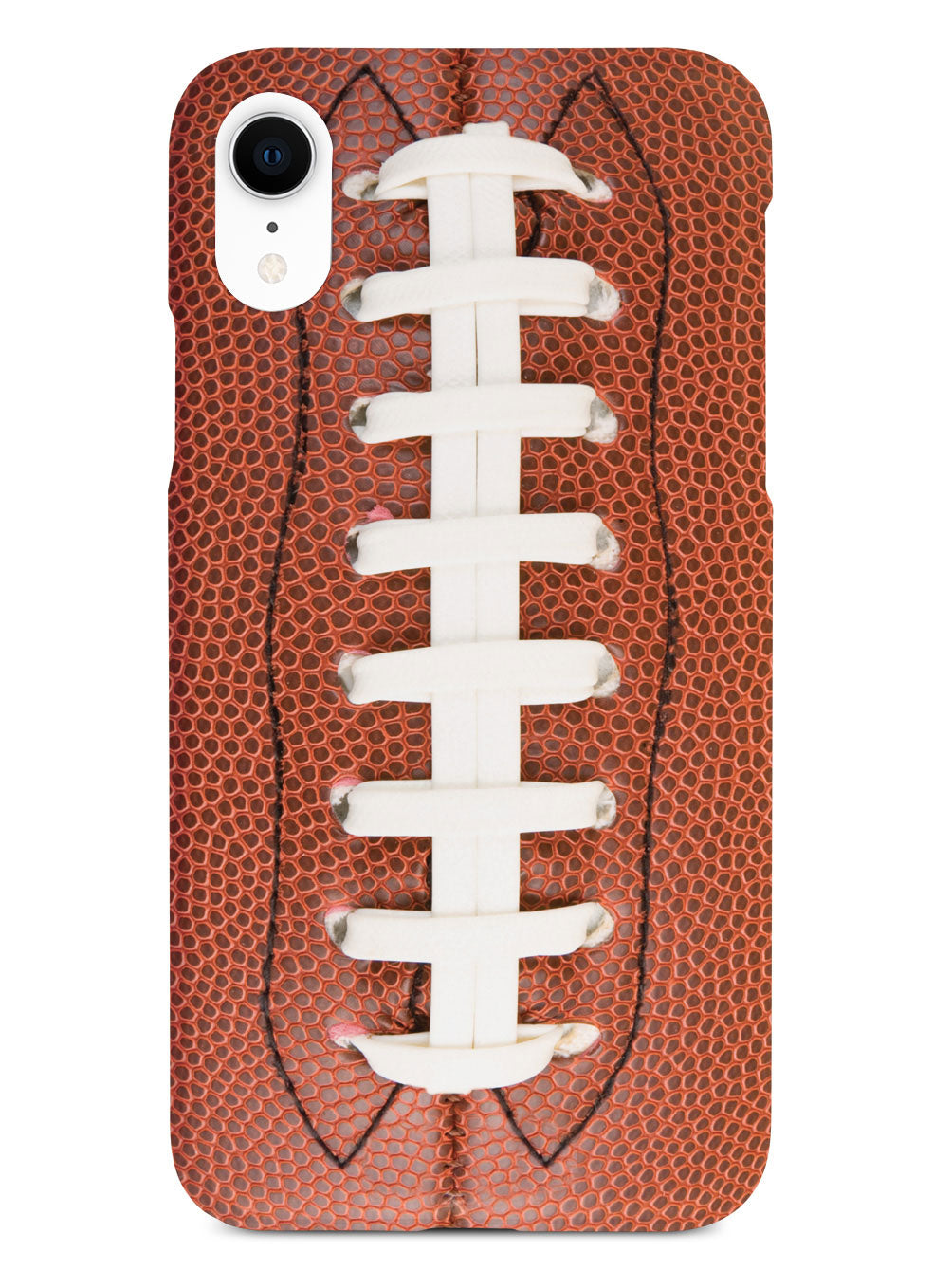 Straight On Football Texture Case