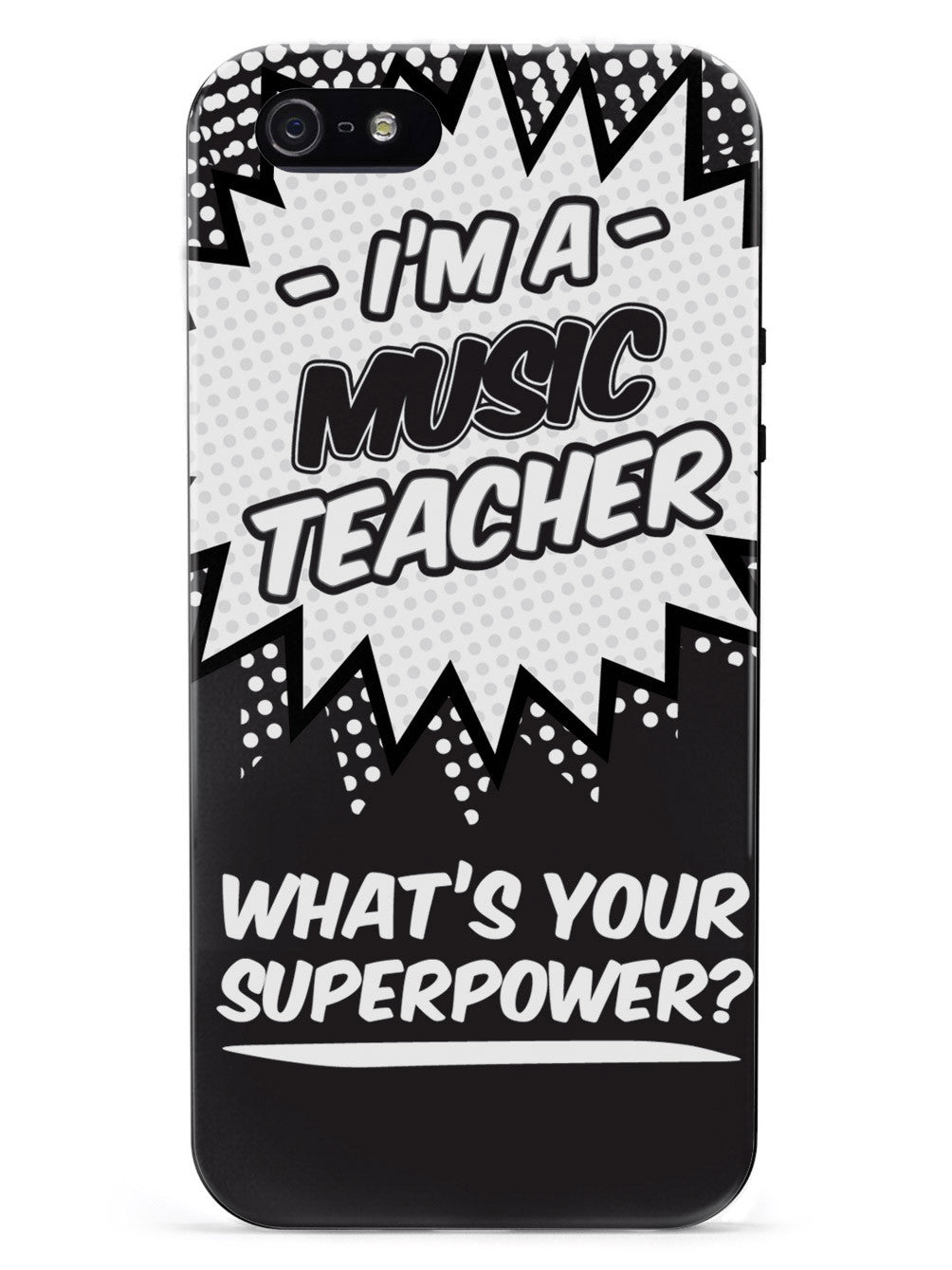 Music Teacher - What's Your Superpower? Case
