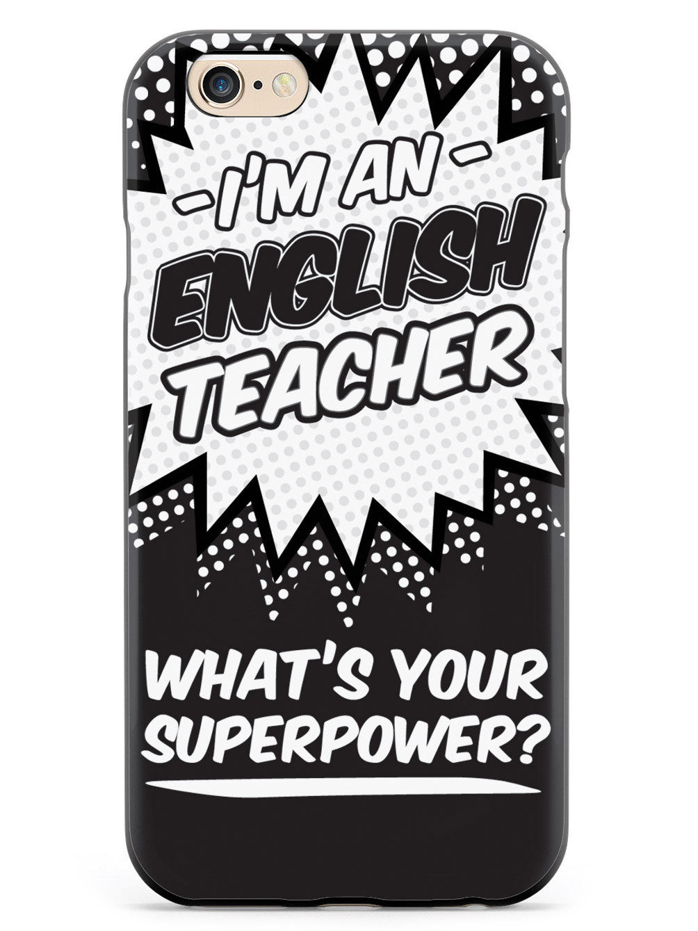 English Teacher - What's Your Superpower? Case