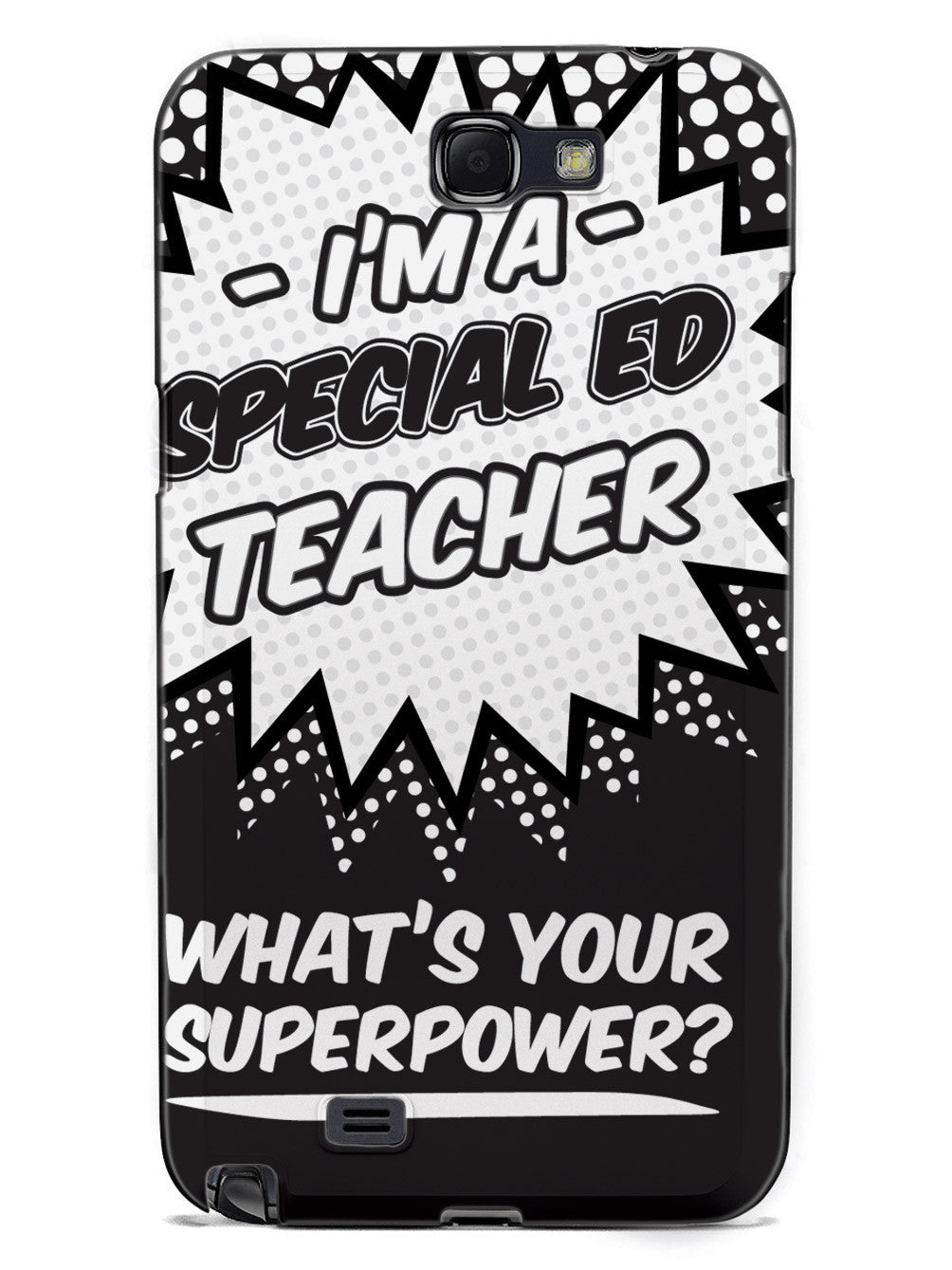 Special Ed Teacher - What's Your Superpower? Case