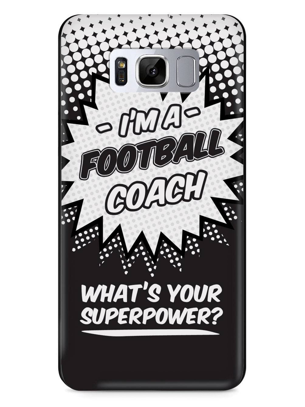 Football Coach - What's Your Superpower? Case