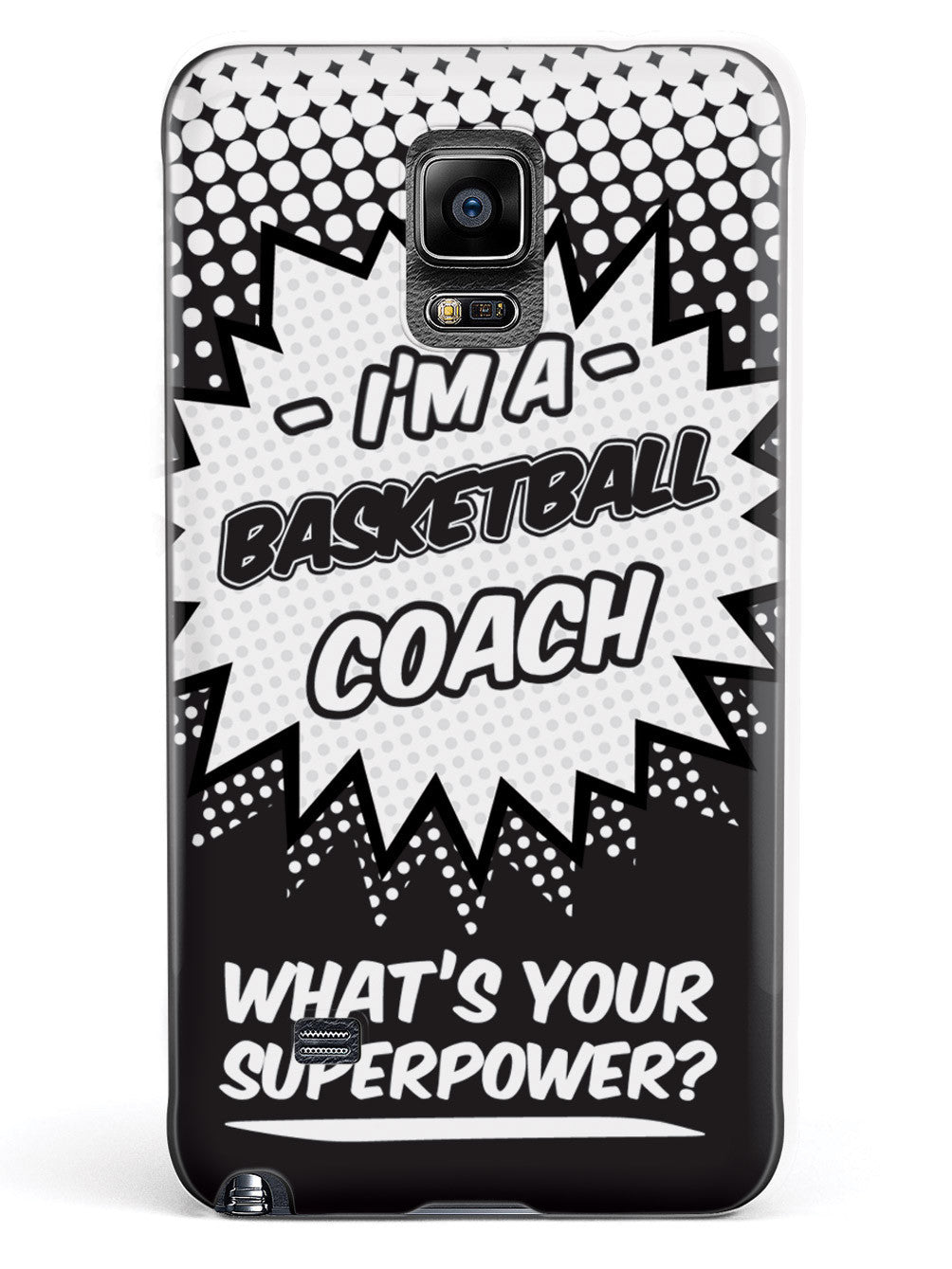 Basketball Coach - What's Your Superpower? Case