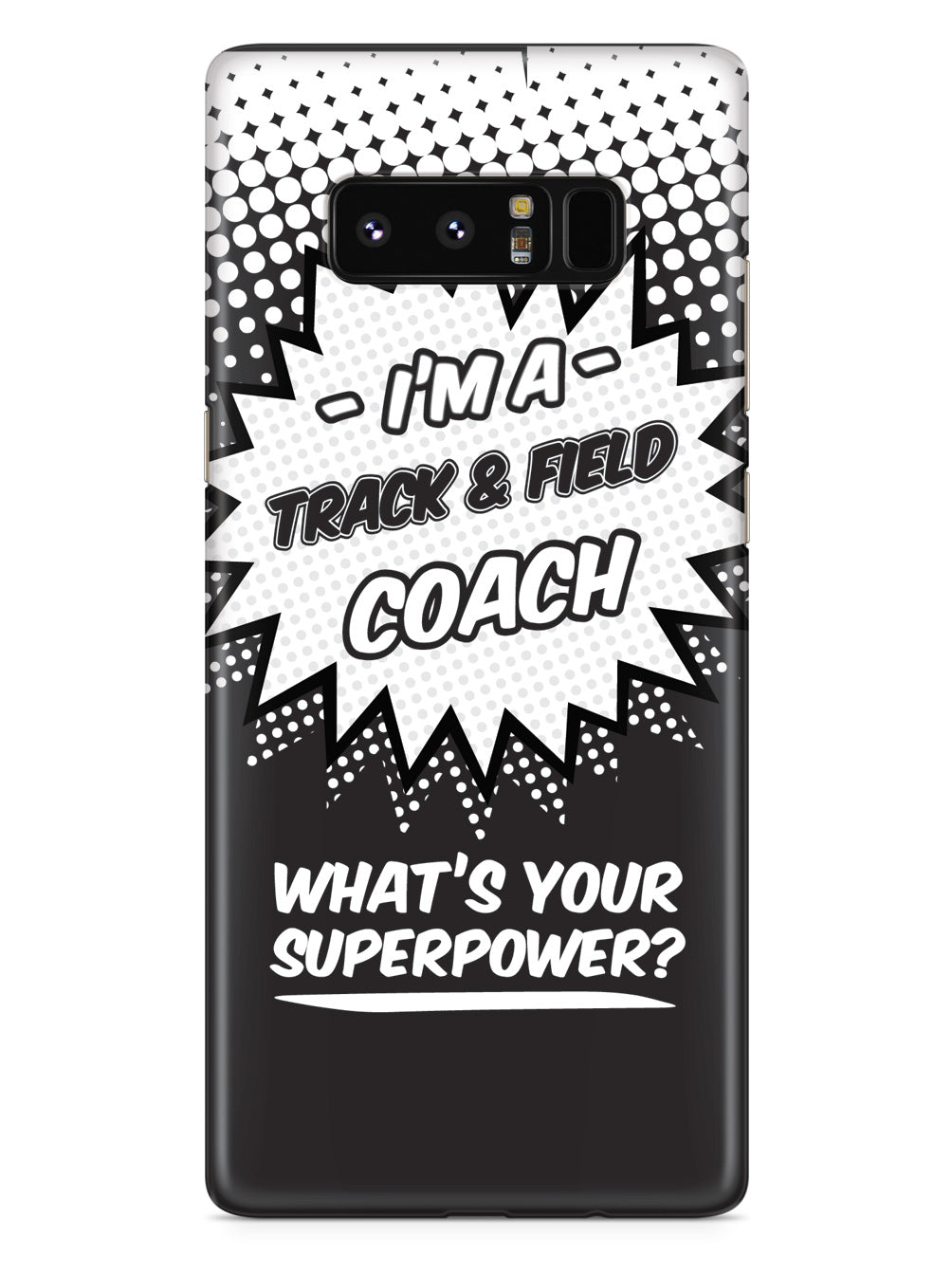 Track & Field Coach - What's Your Superpower? Case