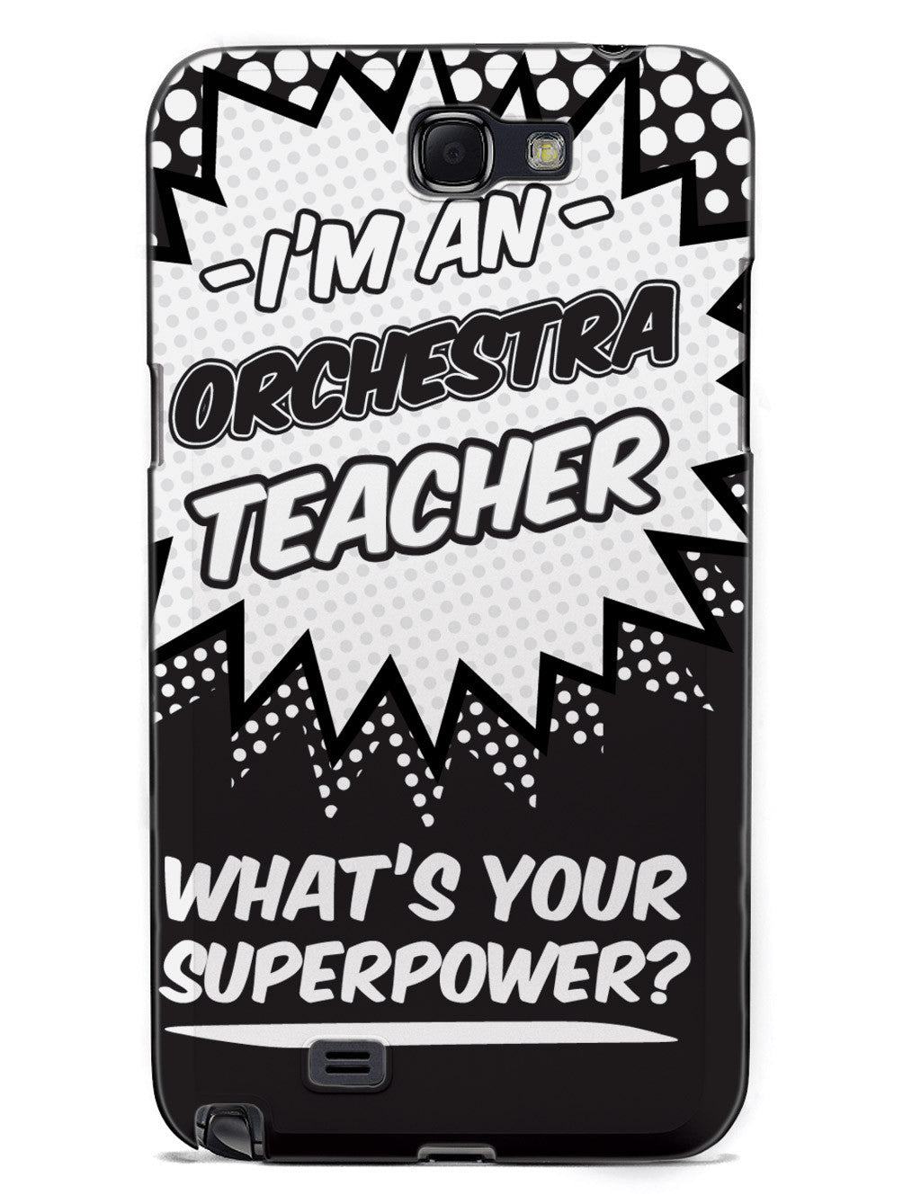 Orchestra Teacher - What's Your Superpower? Case