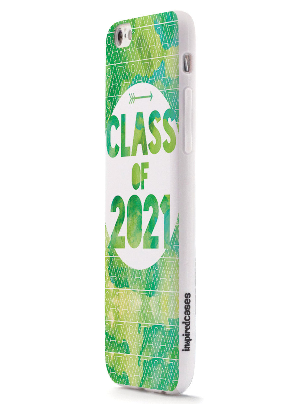 Class of 2021 - Green Watercolor Case