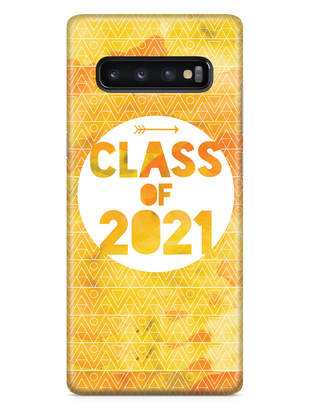 Class of 2021 - Yellow Watercolor Case