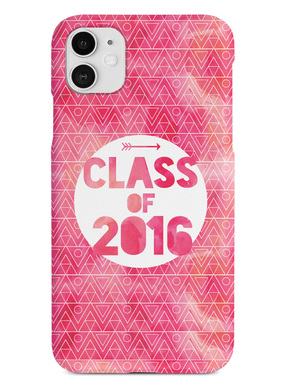 Class of 2016 - Pink Watercolor Case