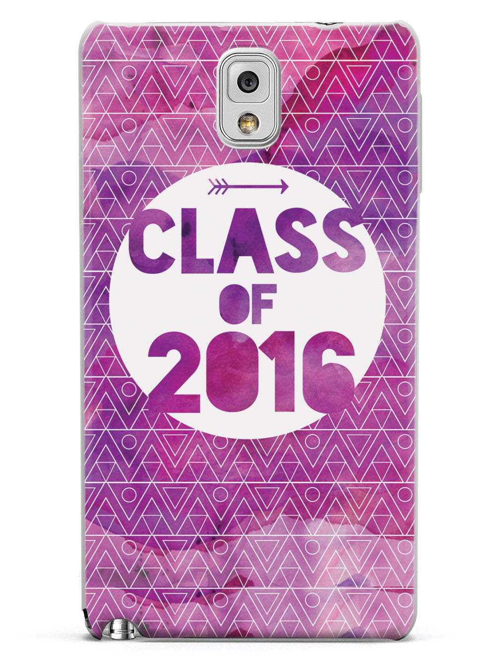 Class of 2016 - Purple Watercolor Case