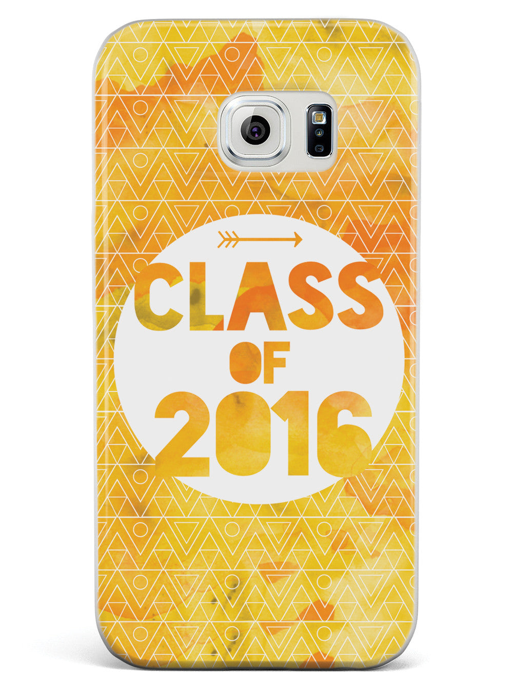 Class of 2016 - Yellow Watercolor Case