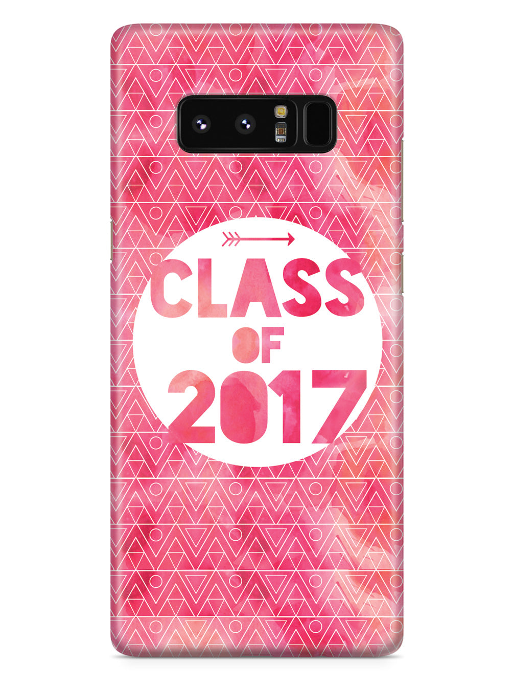 Class of 2017 - Pink Watercolor Case