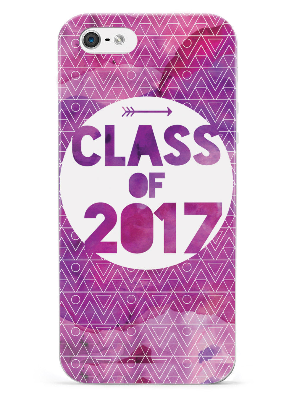 Class of 2017 - Purple Watercolor Case