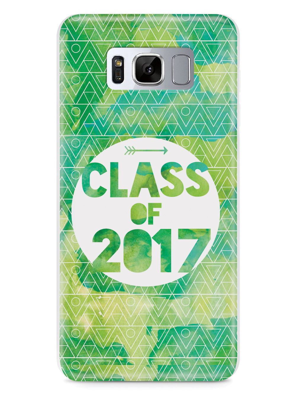 Class of 2017 - Green Watercolor Case