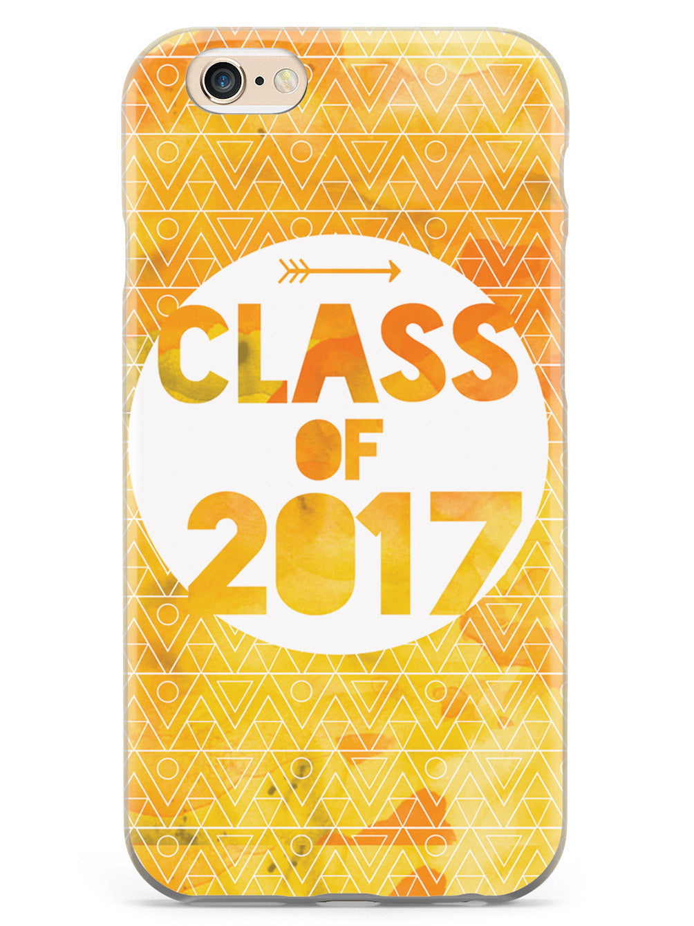 Class of 2017 - Yellow Watercolor Case